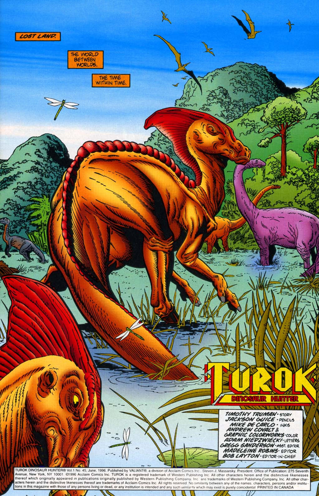 Read online Turok, Dinosaur Hunter (1993) comic -  Issue #45 - 2