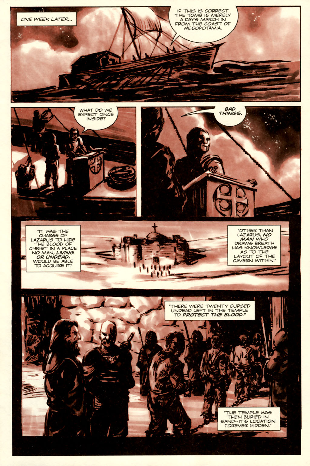 Read online Sea of Red comic -  Issue #5 - 13