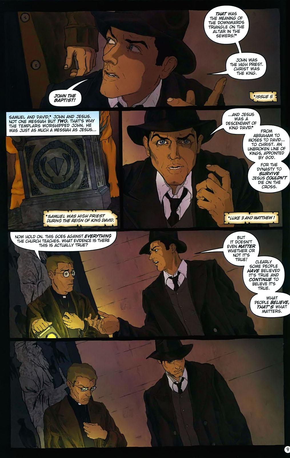 Read online Rex Mundi comic -  Issue #15 - 13