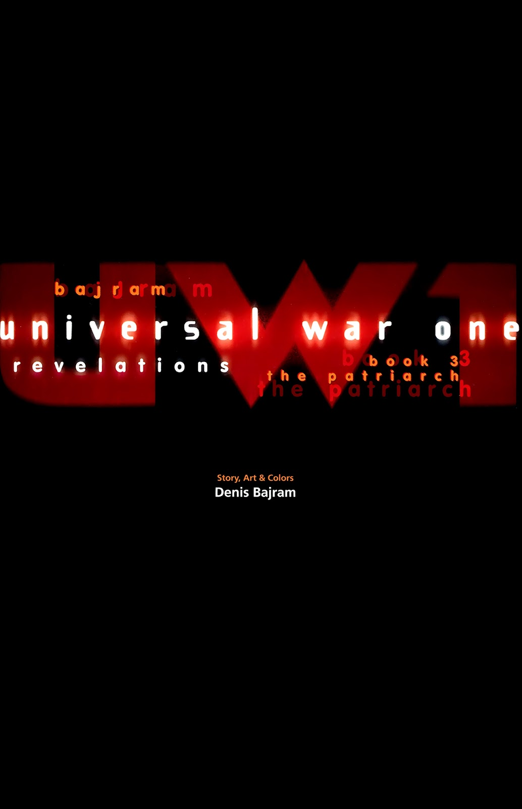 Read online Universal War One: Revelations comic -  Issue #3 - 3