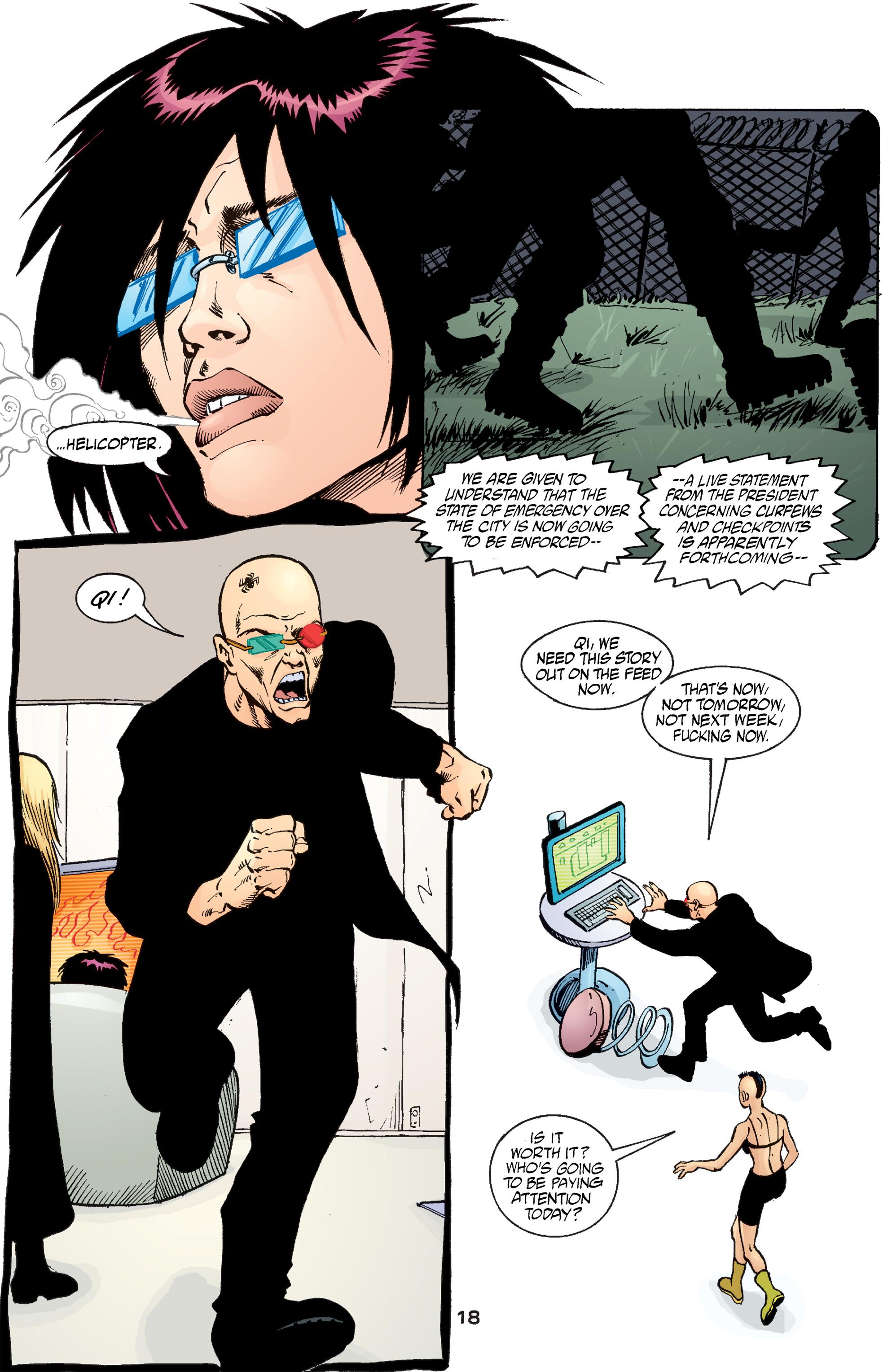 Read online Transmetropolitan comic -  Issue #54 - 19