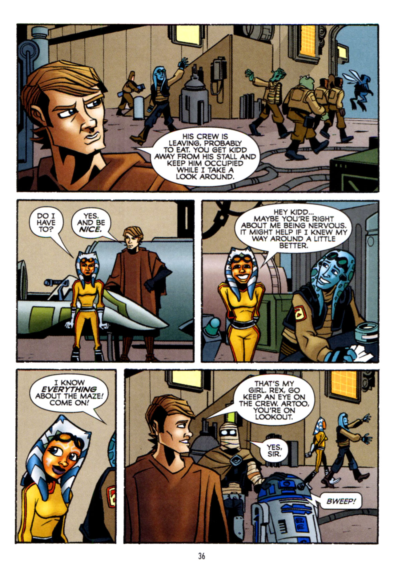 Read online Star Wars: The Clone Wars - Crash Course comic -  Issue # Full - 37