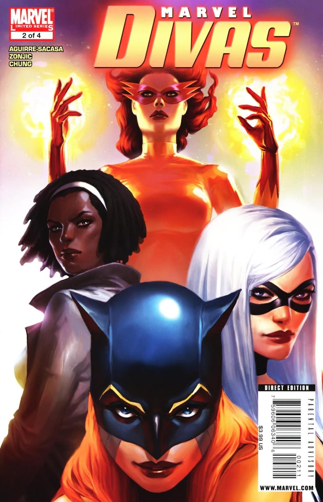 Marvel Divas issue 2 - Page 1