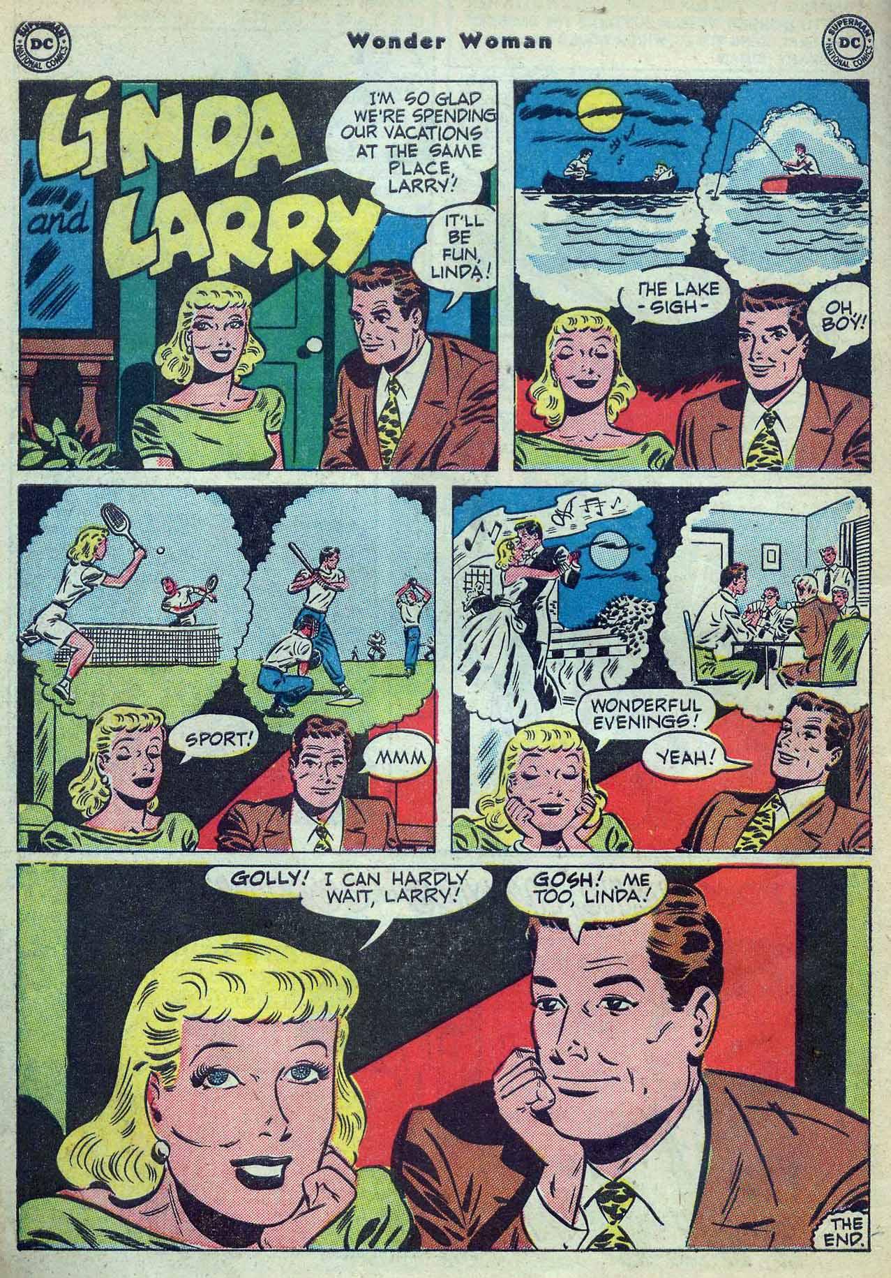 Read online Wonder Woman (1942) comic -  Issue #53 - 42