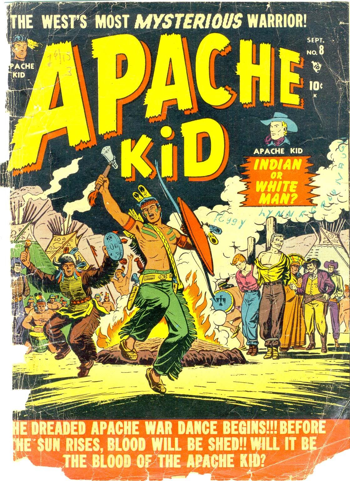 Apache Kid issue 8 - Page 1