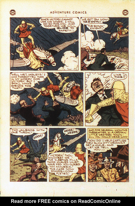 Read online Adventure Comics (1938) comic -  Issue #104 - 37