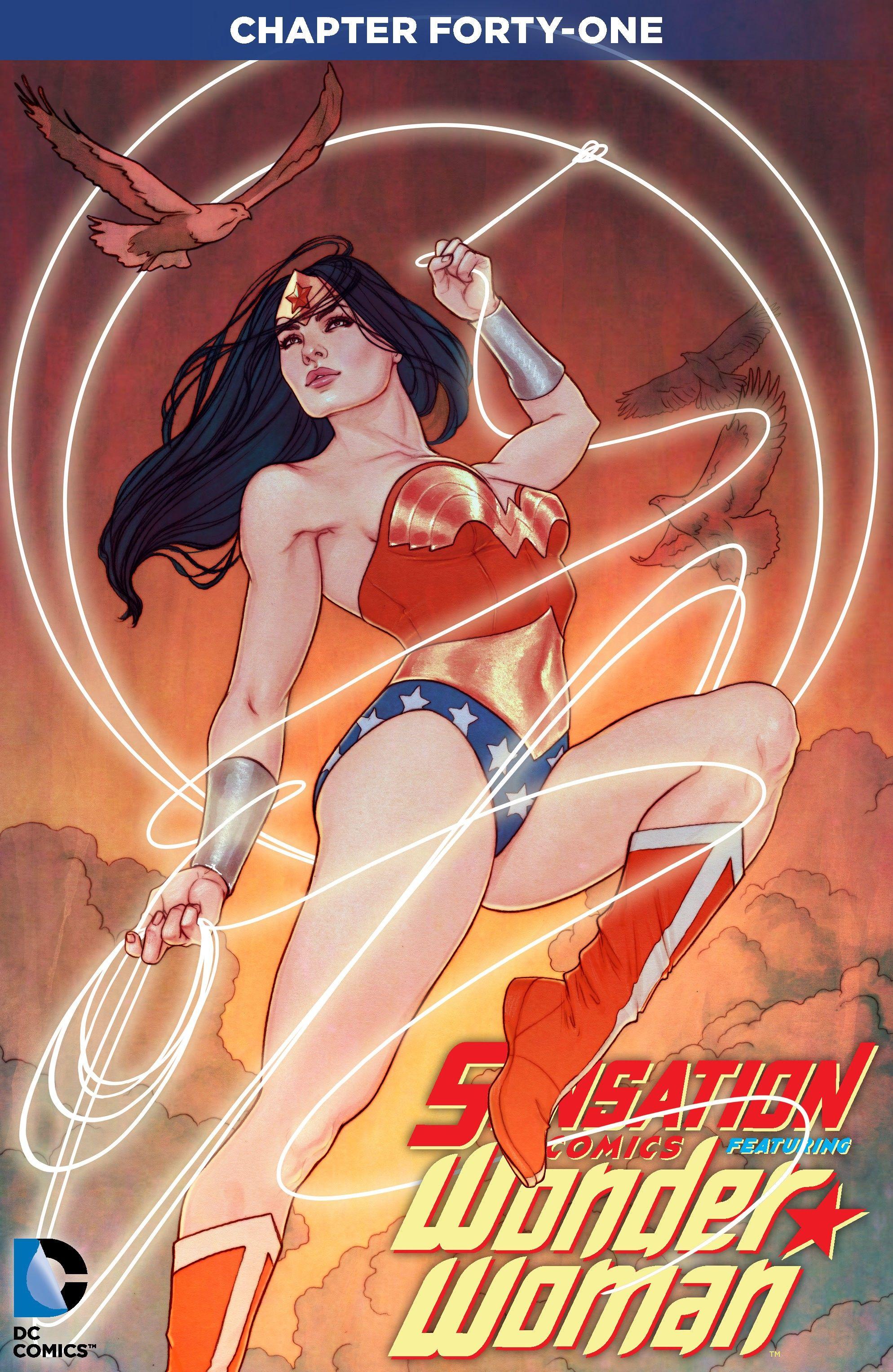Read online Sensation Comics Featuring Wonder Woman comic -  Issue #41 - 2