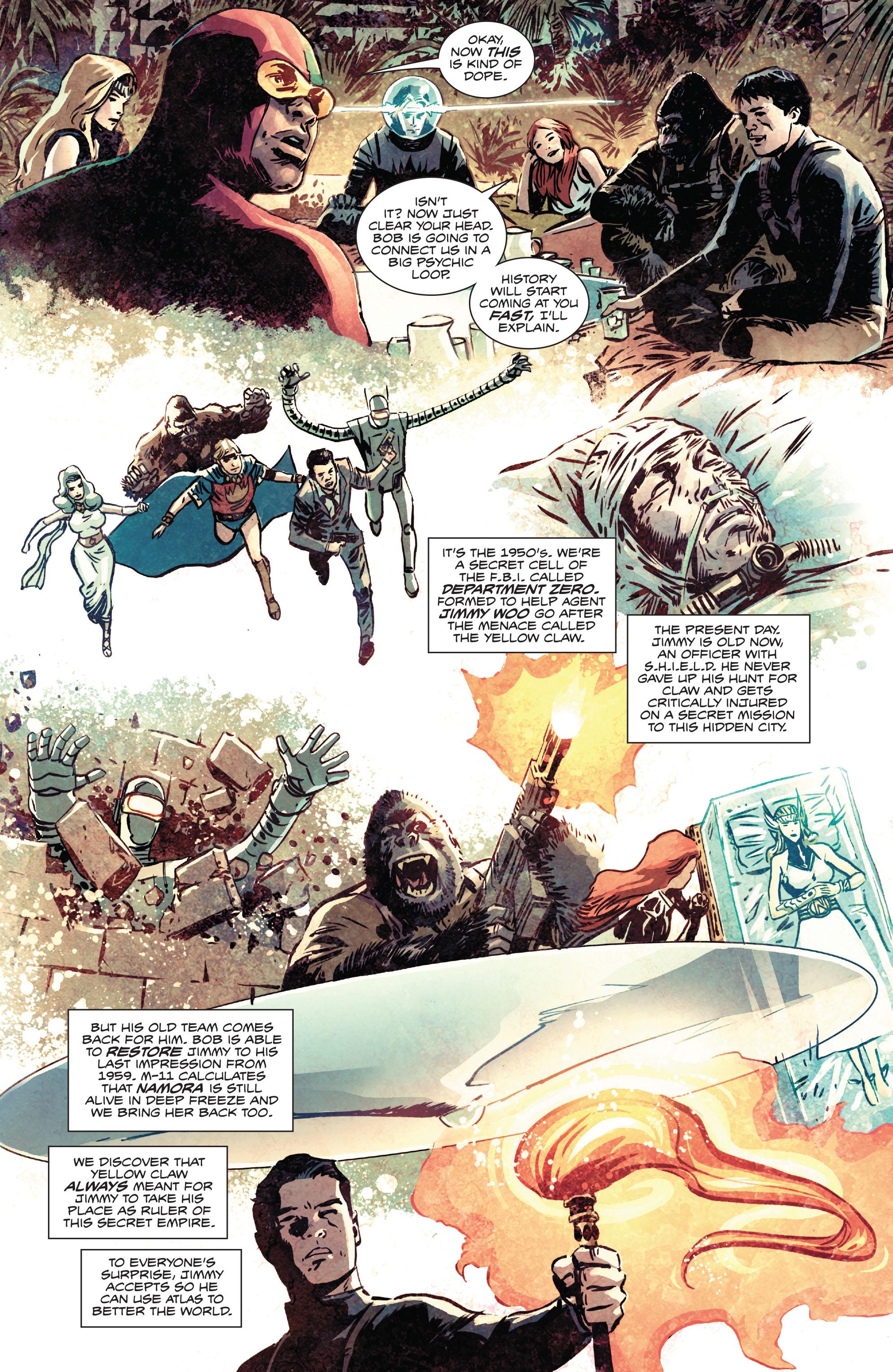 Read online Atlas comic -  Issue #2 - 8