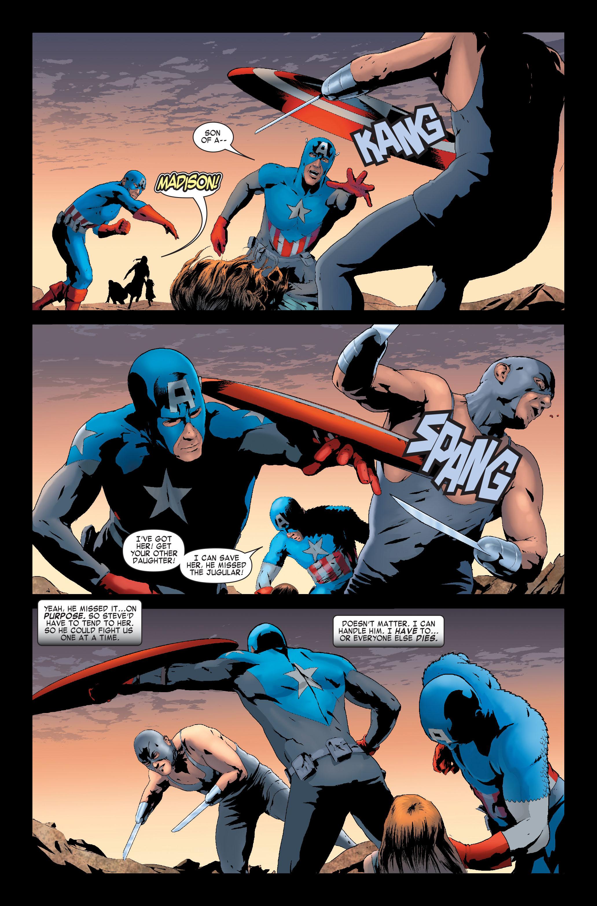 Read online Siege: Captain America comic -  Issue # Full - 15