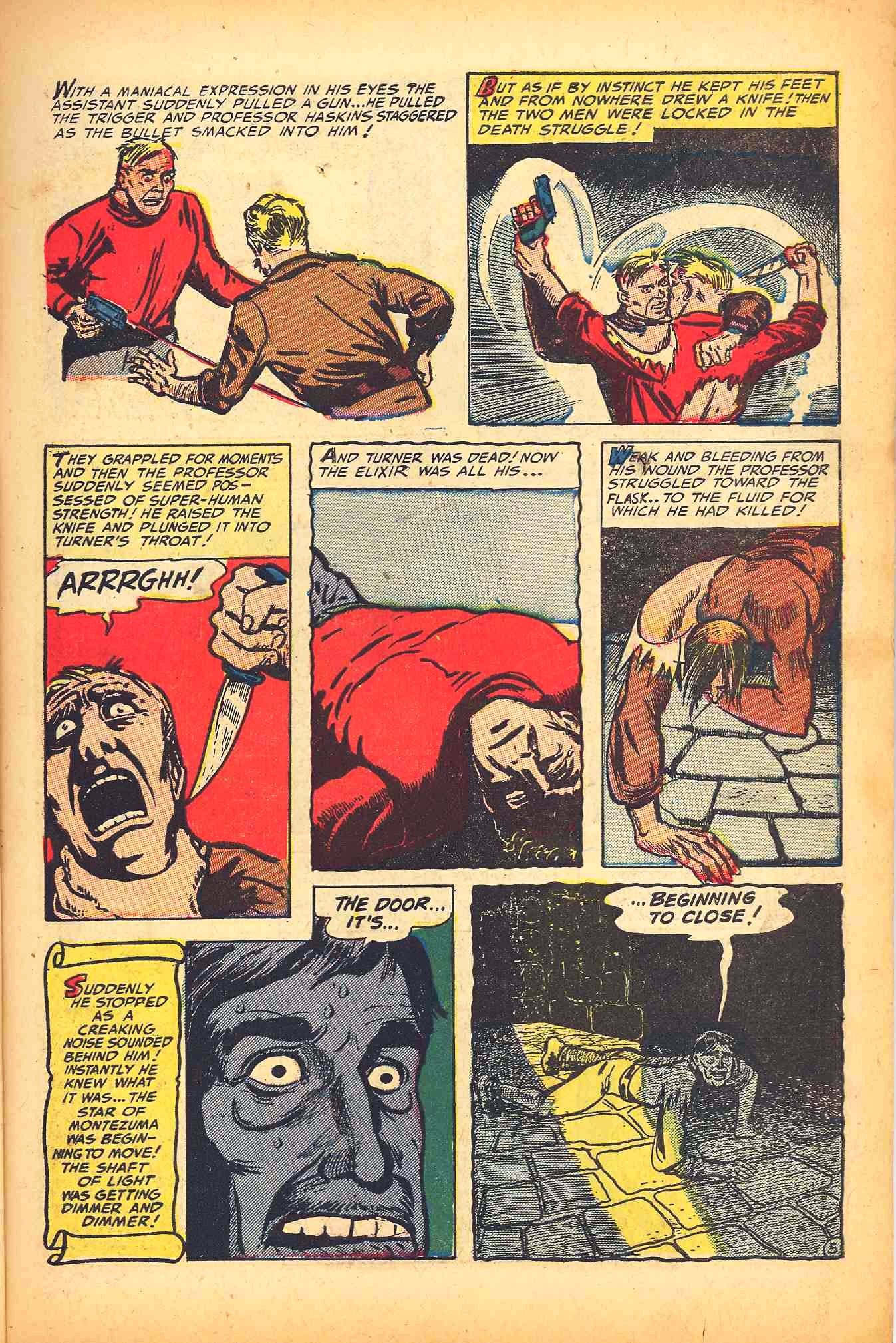 Weird Mysteries (1952) issue 6 - Page 7