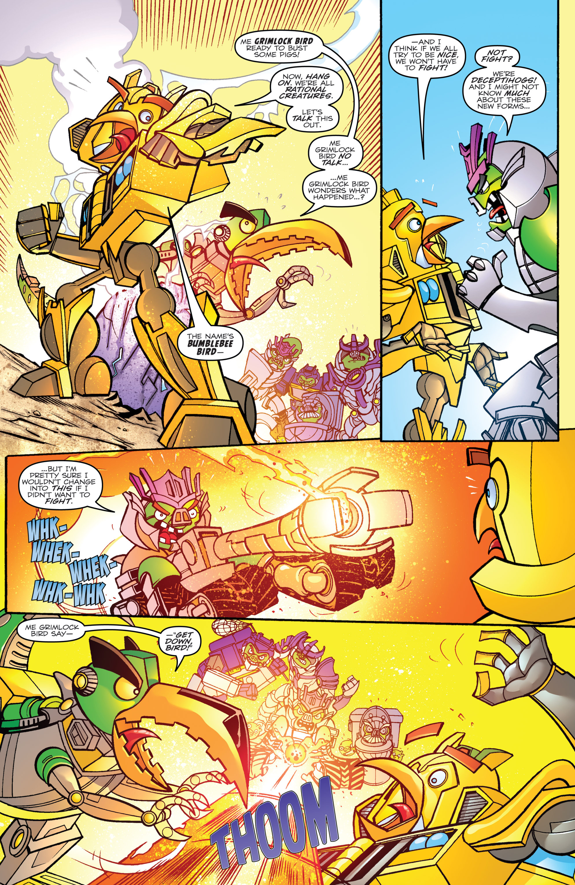 Read online Angry Birds Transformers comic -  Issue #1 - 20