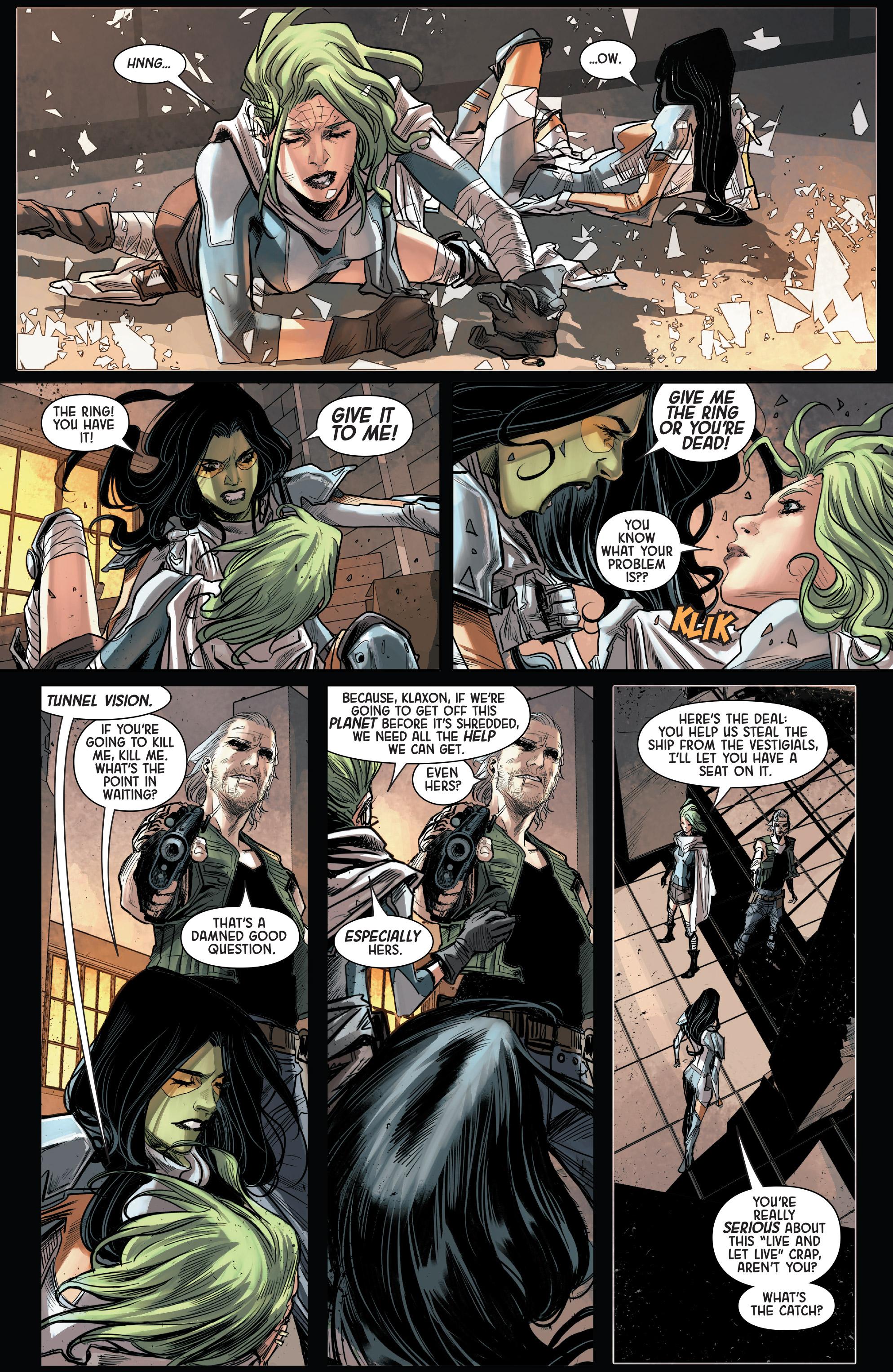 Read online Gamora comic -  Issue #5 - 7