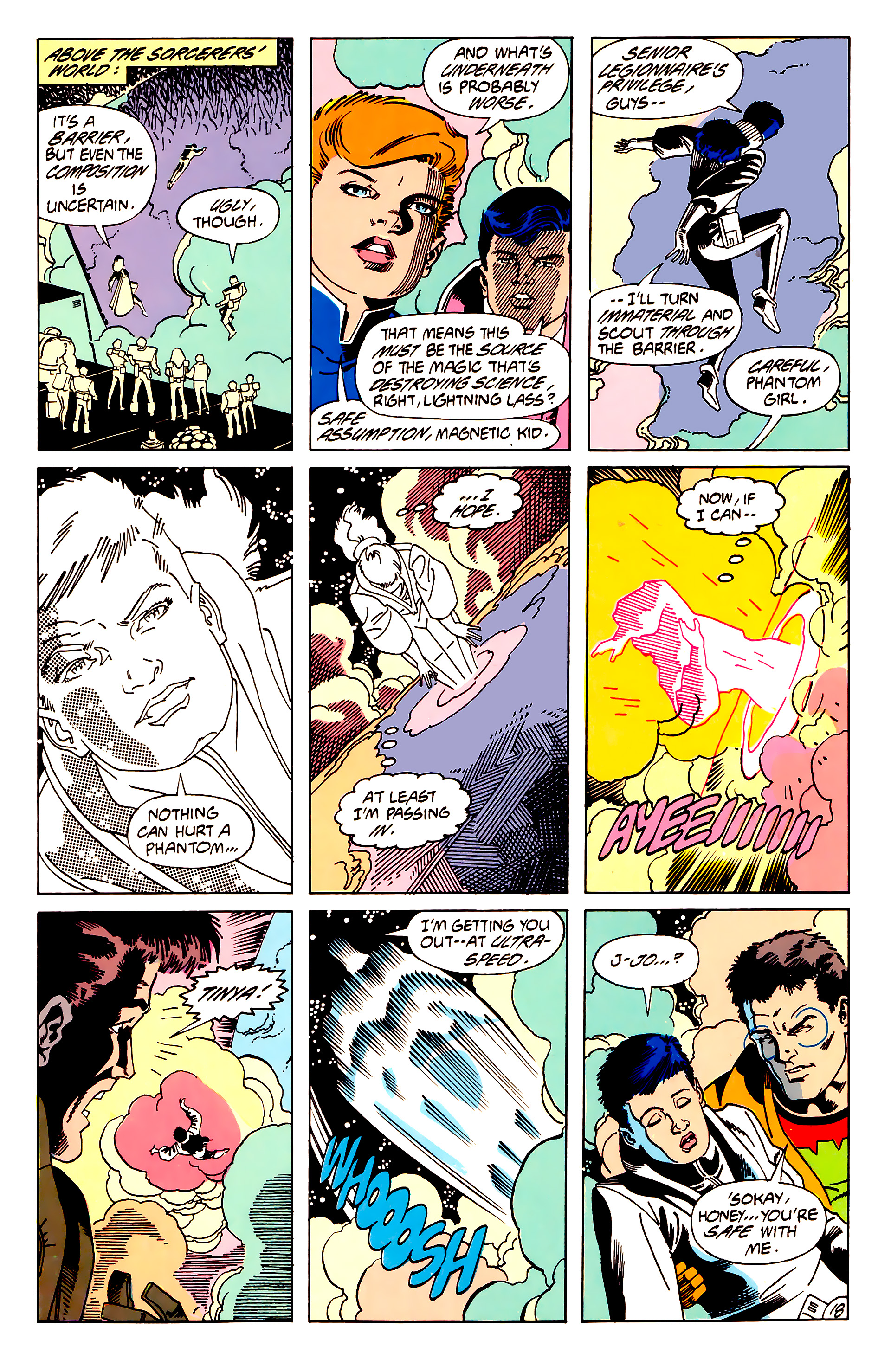 Legion of Super-Heroes (1984) 62 Page 18