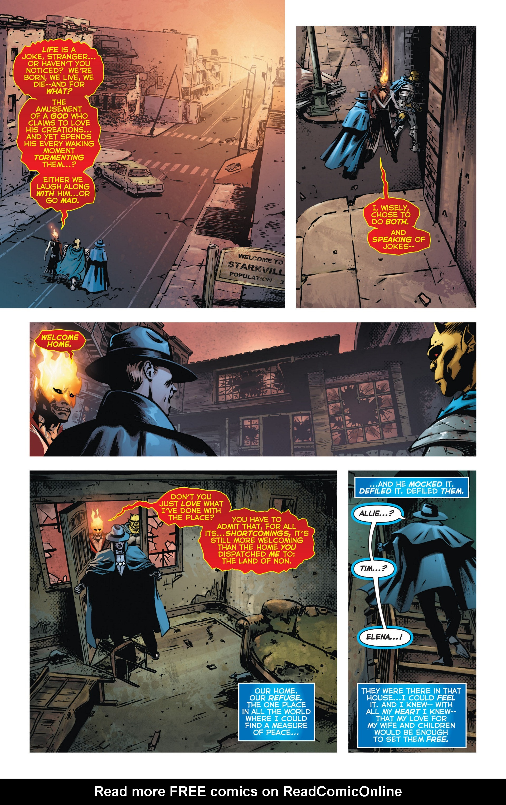 Read online Trinity of Sin: The Phantom Stranger comic -  Issue #9 - 11