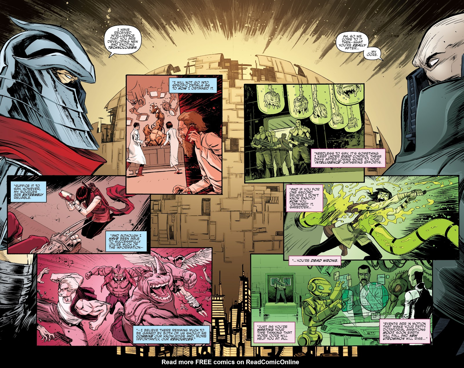 Read online Teenage Mutant Ninja Turtles: The IDW Collection comic -  Issue # TPB 4 (Part 3) - 104