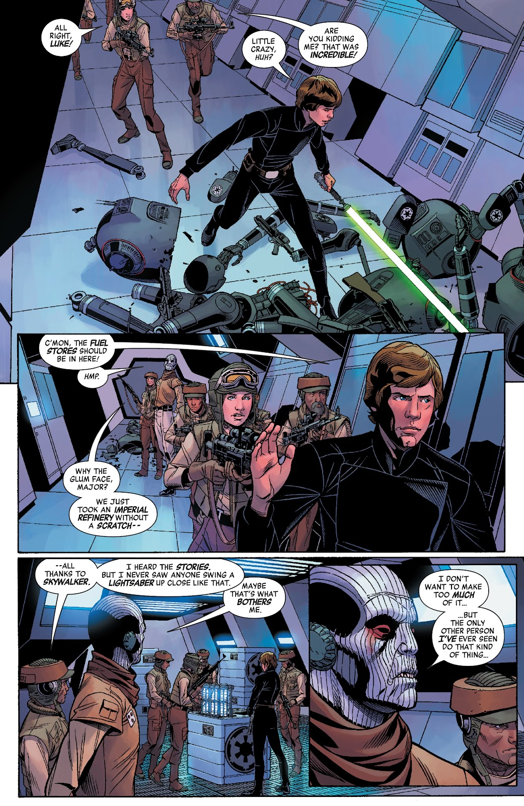 Read online Star Wars: Age of Rebellion - Heroes comic -  Issue # TPB - 76