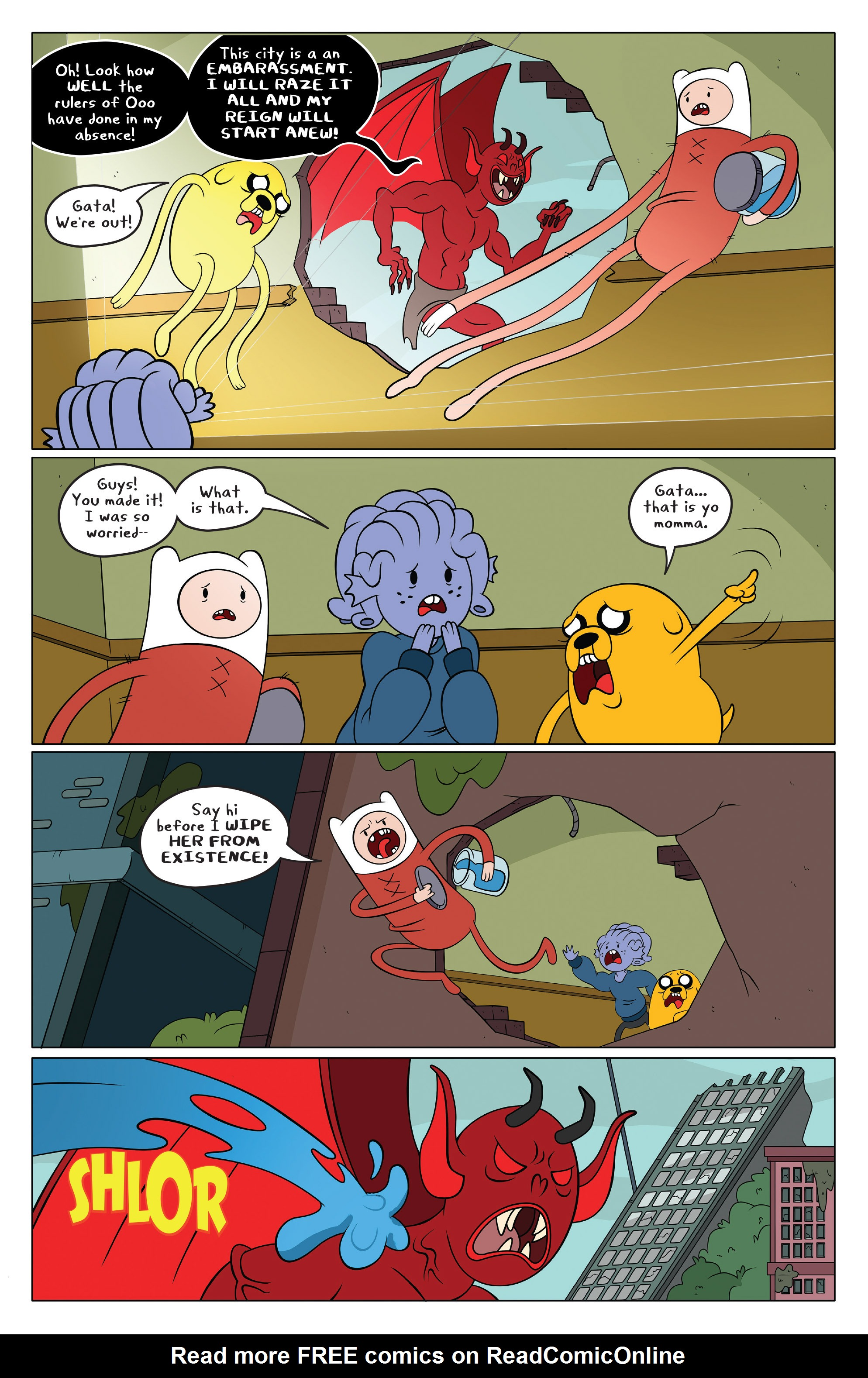 Read online Adventure Time comic -  Issue #49 - 13