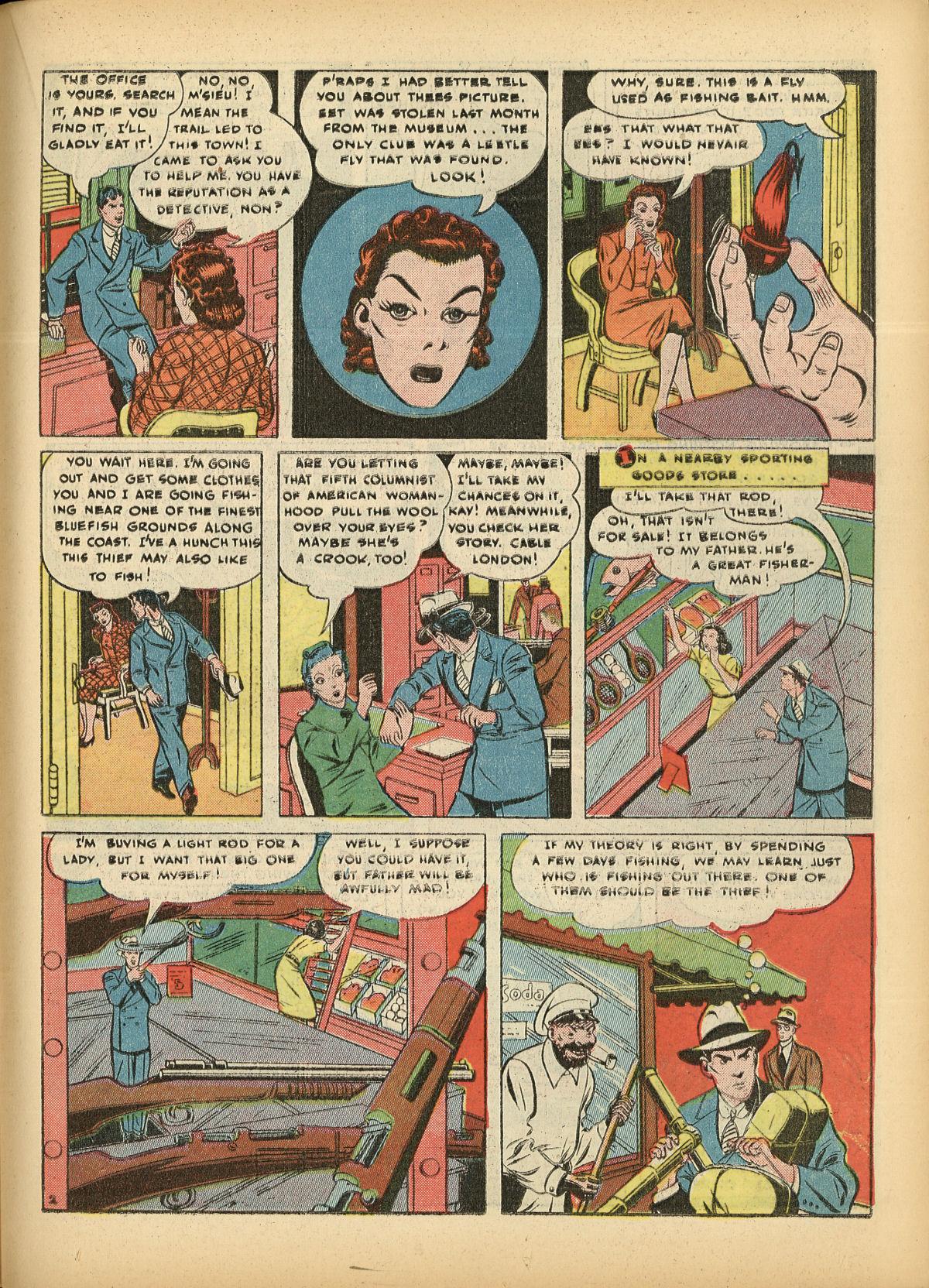 Read online Detective Comics (1937) comic -  Issue #55 - 45