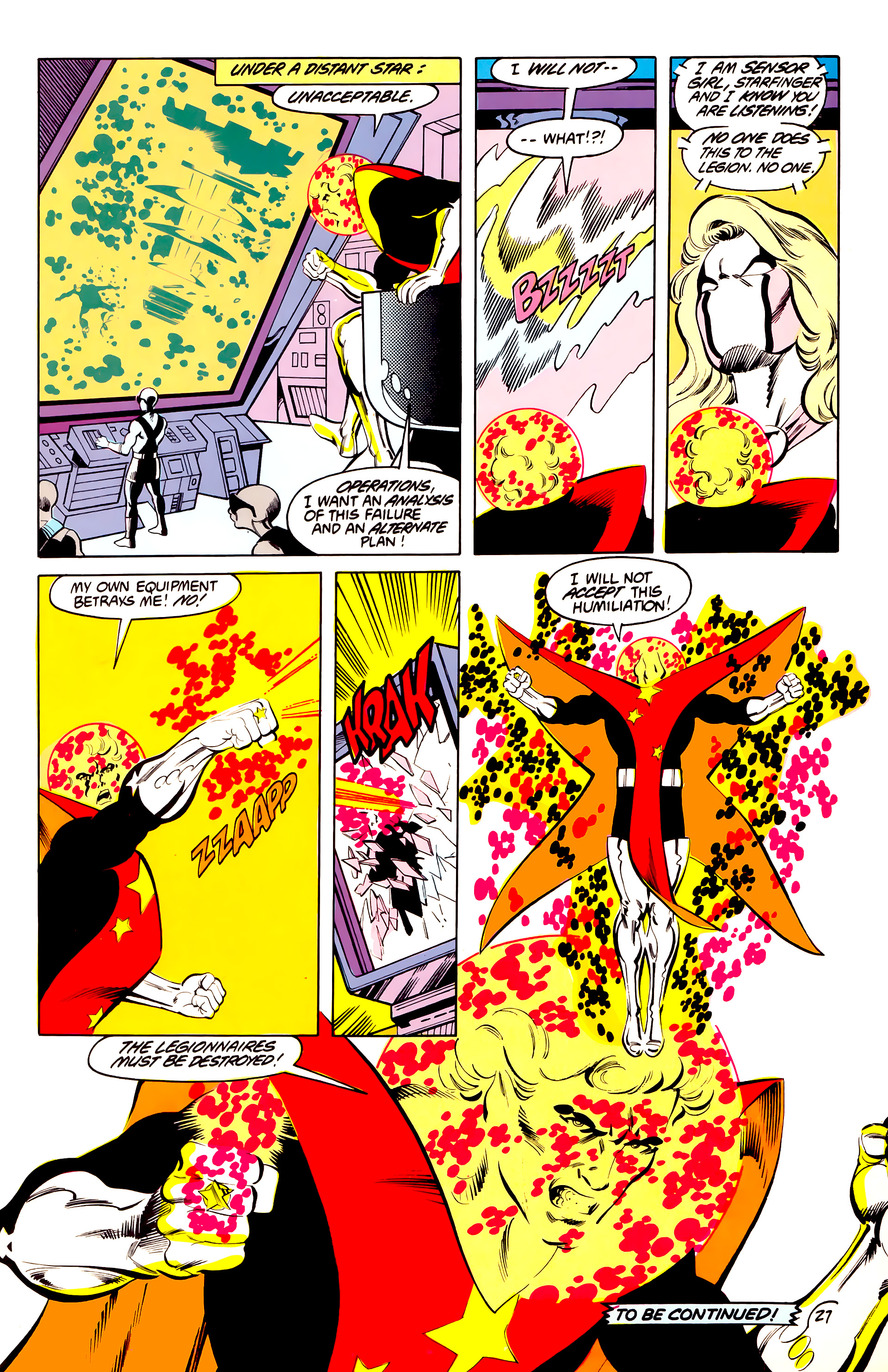 Legion of Super-Heroes (1984) 40 Page 27
