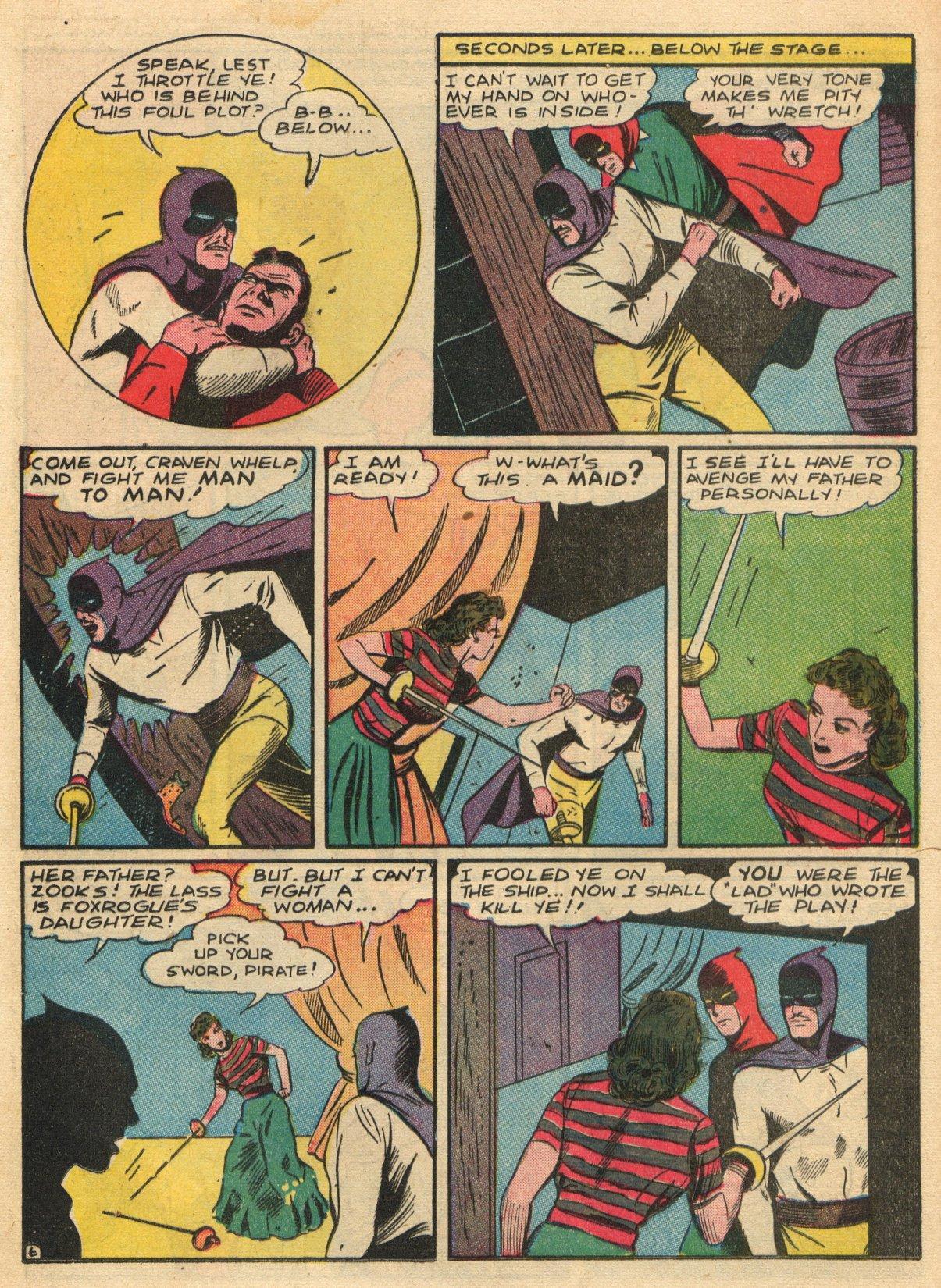 Read online Sensation (Mystery) Comics comic -  Issue #22 - 22