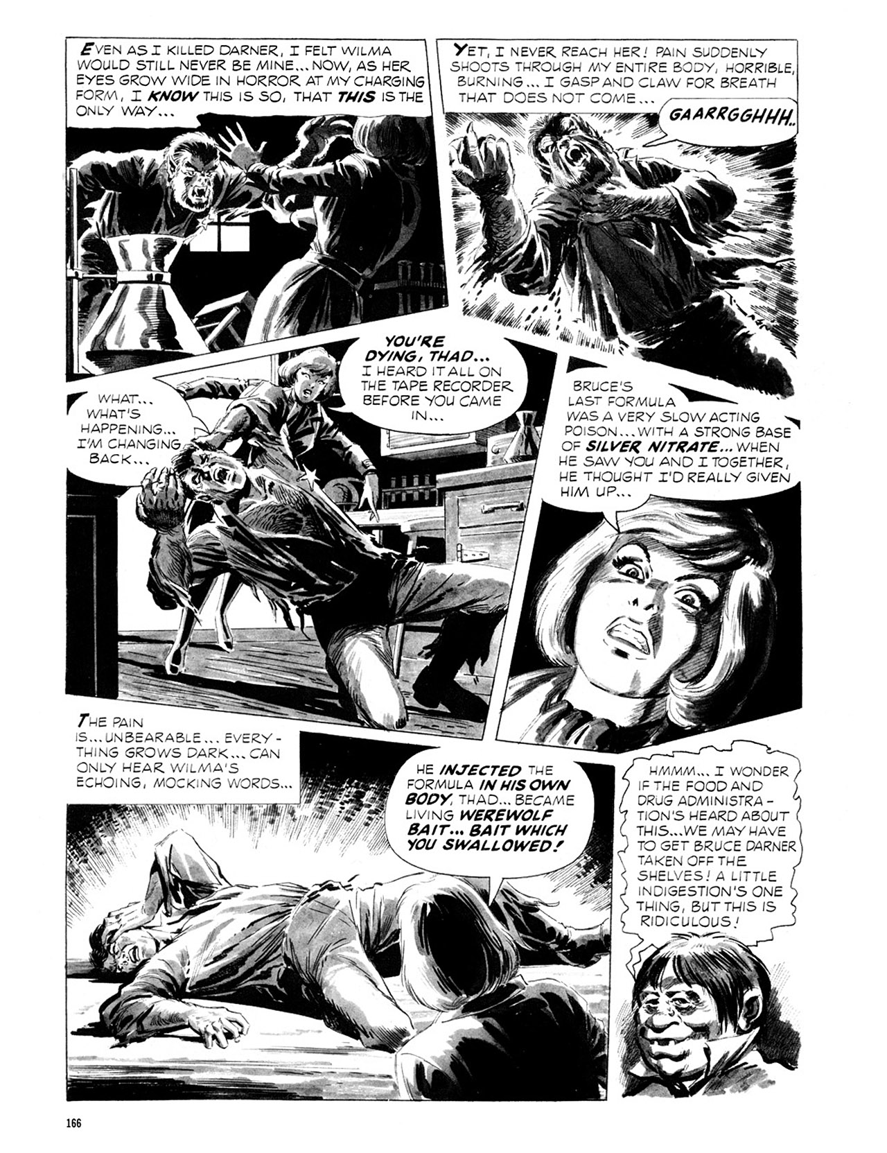 Read online Eerie Archives comic -  Issue # TPB 2 - 167
