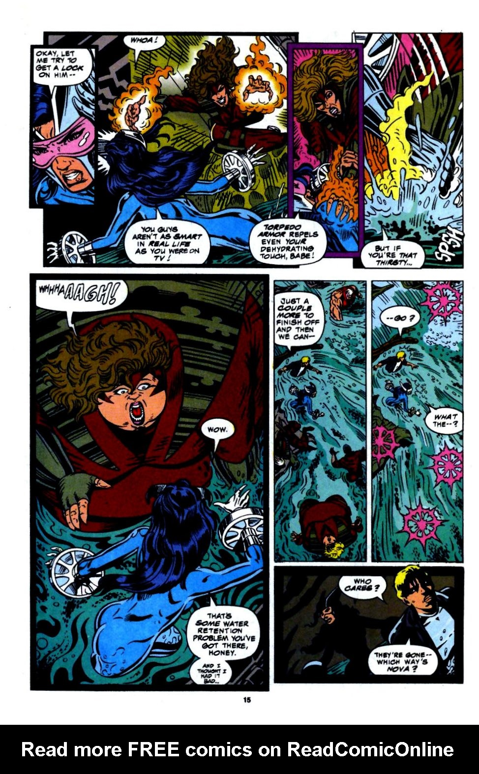 The New Warriors Issue #56 #60 - English 11