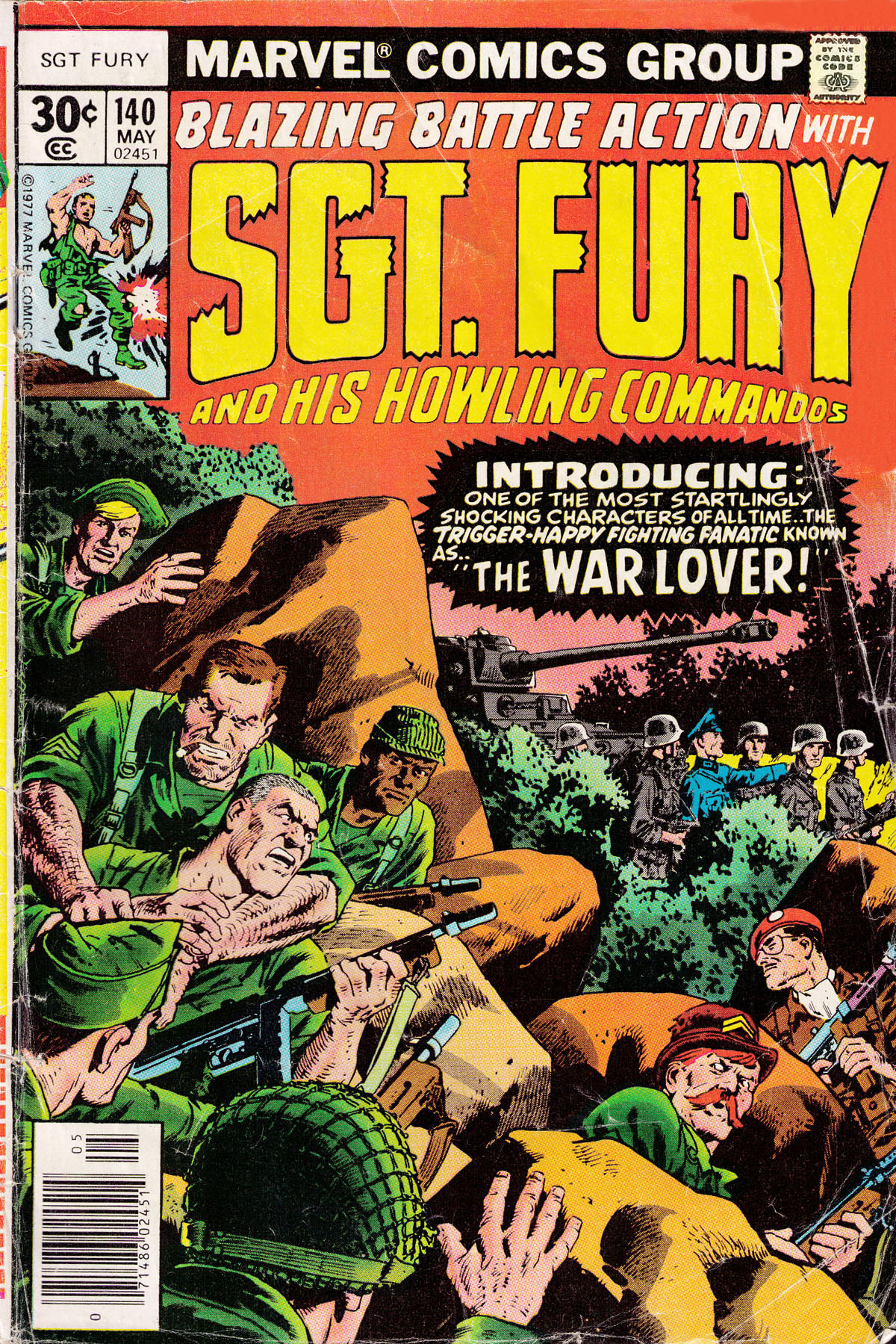 Read online Sgt. Fury comic -  Issue #140 - 1