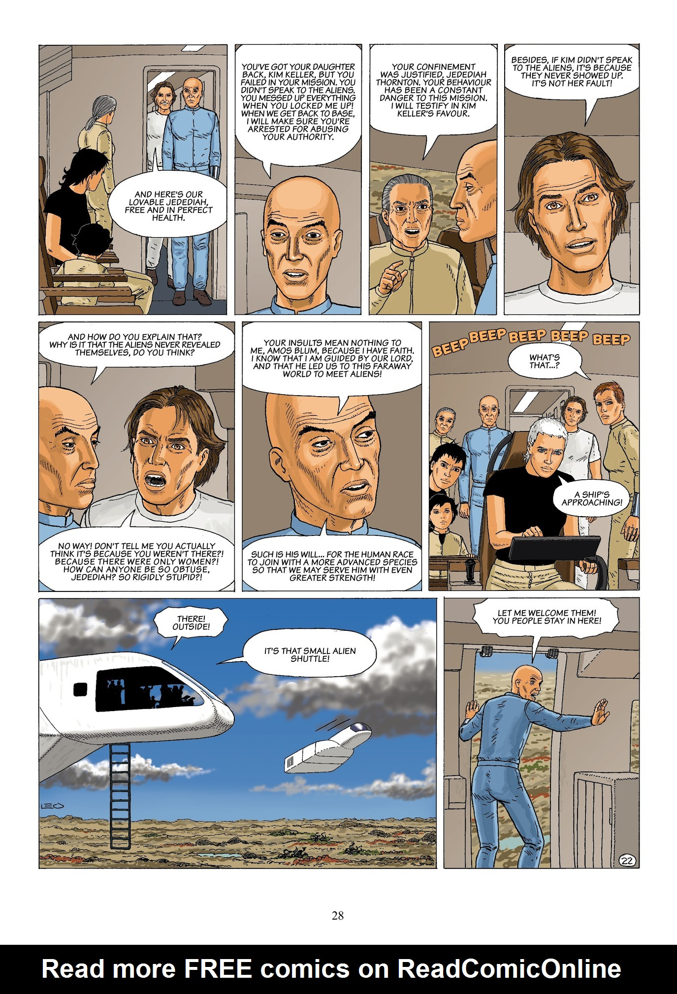 Read online Antares comic -  Issue #6 - 30