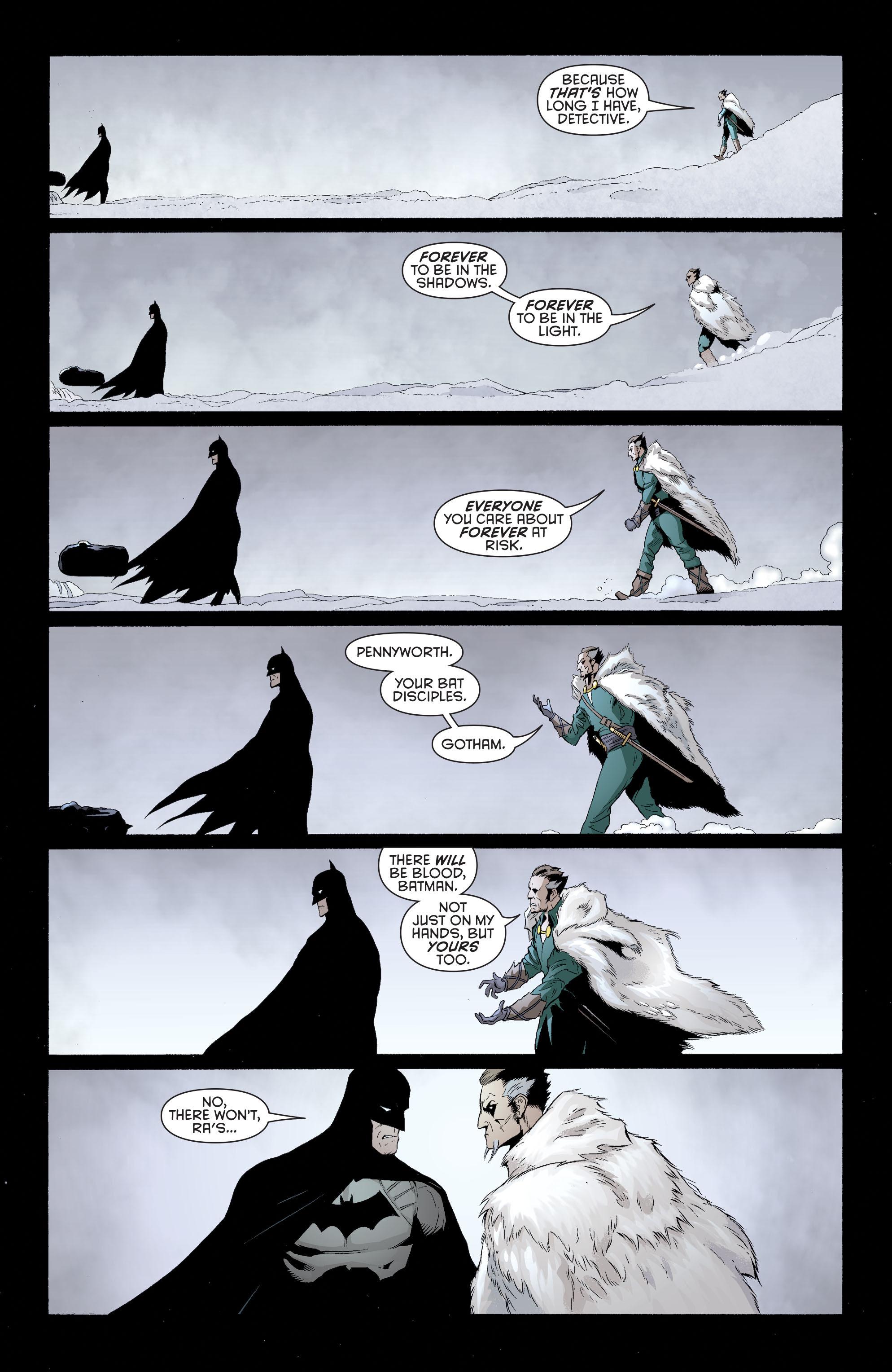 Read online Batman and Robin (2011) comic -  Issue #32 - Batman and Ra's al Ghul - 14