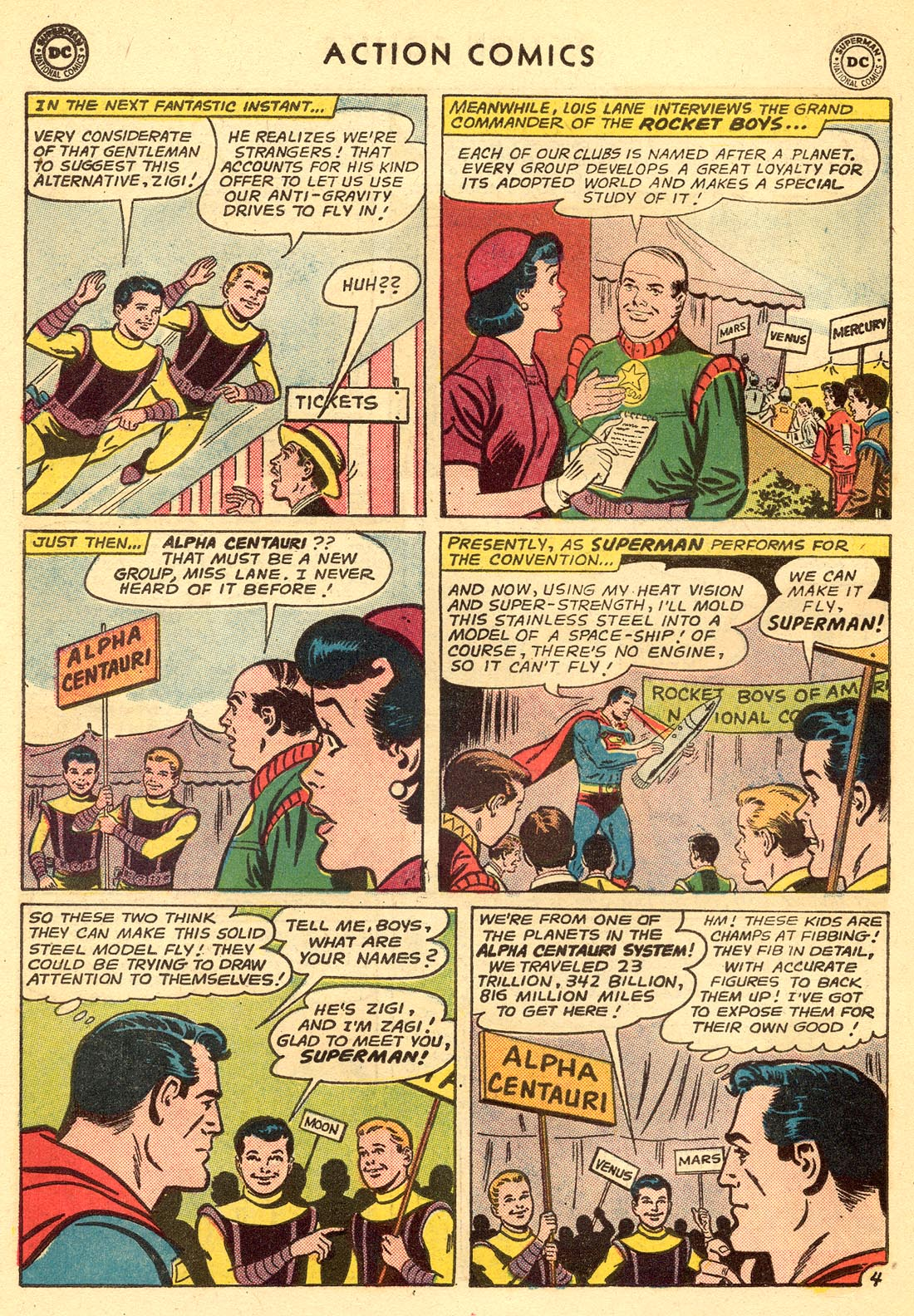 Read online Action Comics (1938) comic -  Issue #315 - 6