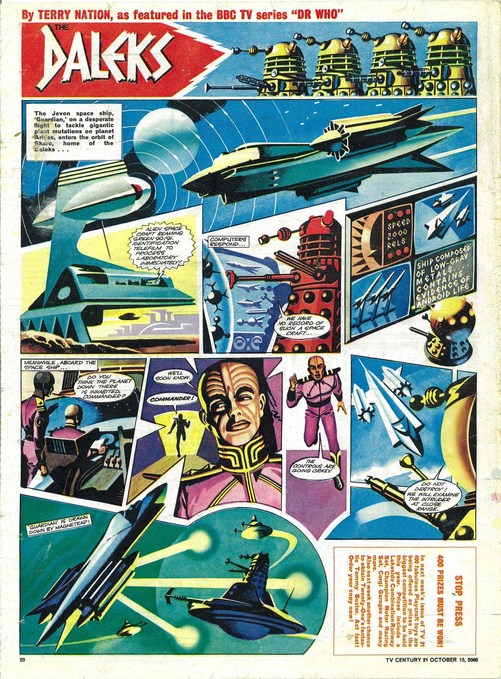 Read online TV Century 21 (TV 21) comic -  Issue #91 - 19
