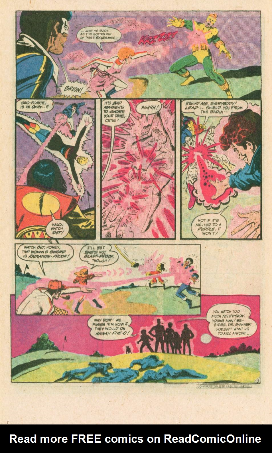 Read online Adventures of the Outsiders comic -  Issue #40 - 10
