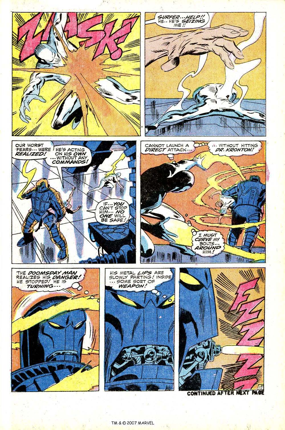 Read online Silver Surfer (1968) comic -  Issue #13 - 21