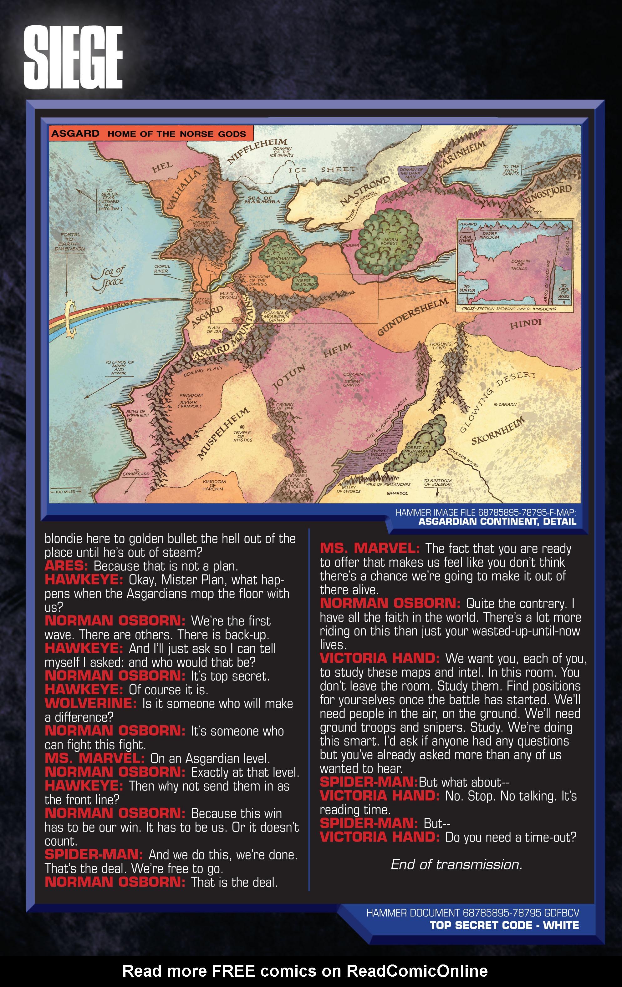 Read online Siege (2010) comic -  Issue #1 - 32