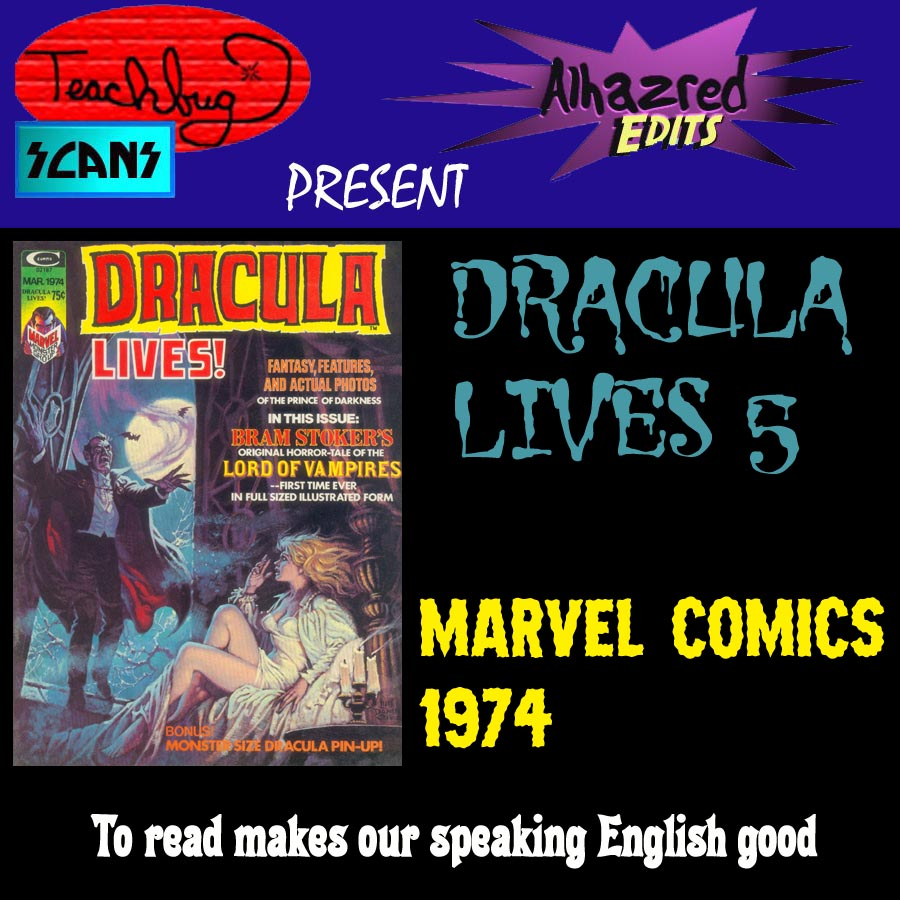Dracula Lives issue 5 - Page 1