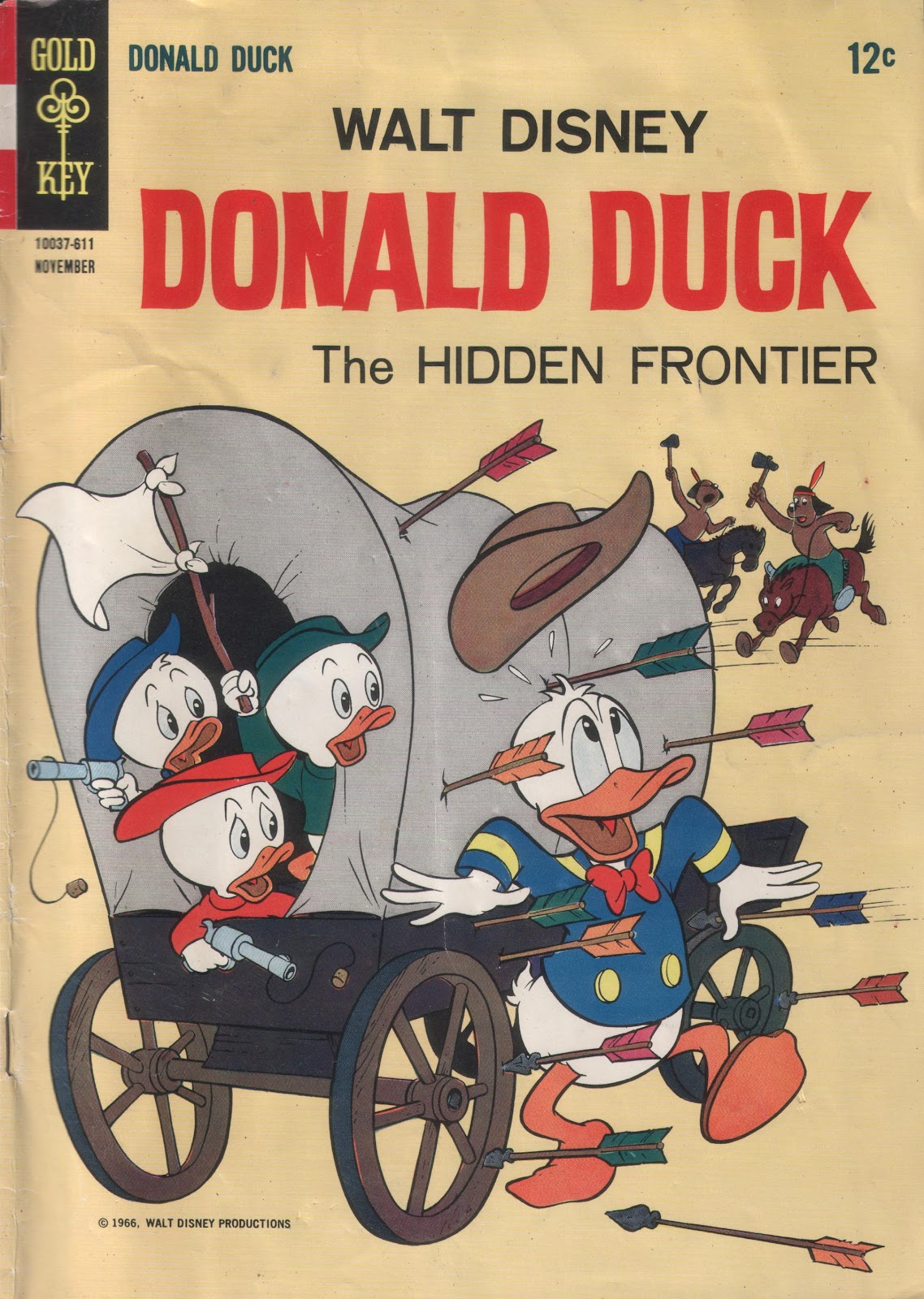 Walt Disney's Donald Duck (1952) issue 110 - Page 1