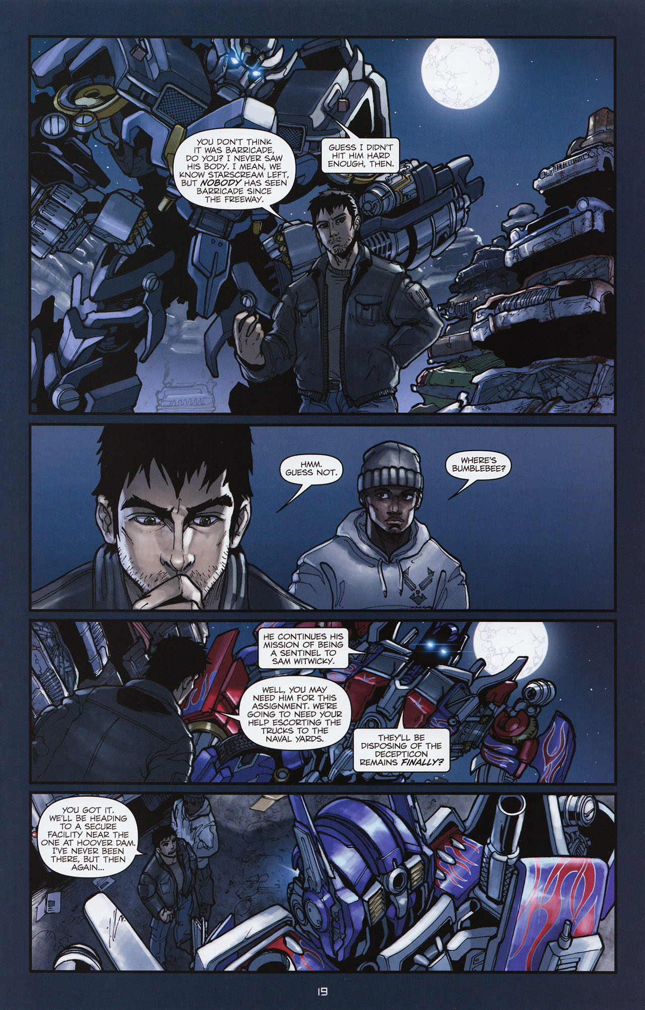 Read online Transformers: Alliance comic -  Issue #1 - 22