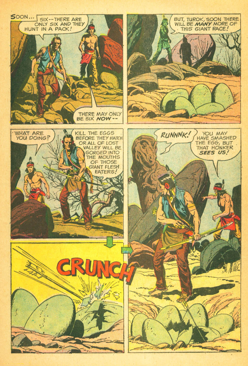 Read online Turok, Son of Stone comic -  Issue #27 - 27