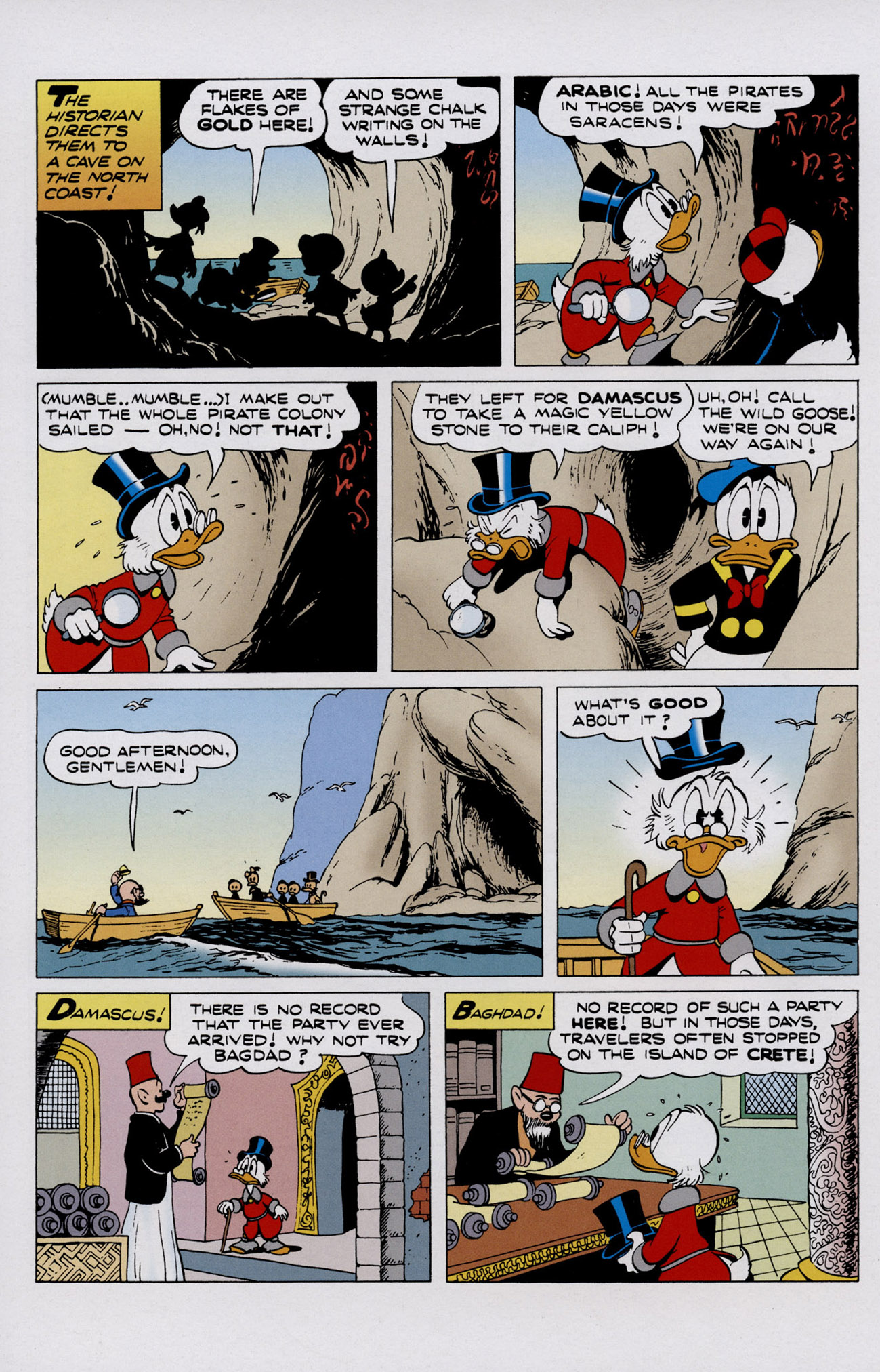 Read online Uncle Scrooge (1953) comic -  Issue #402 - 10