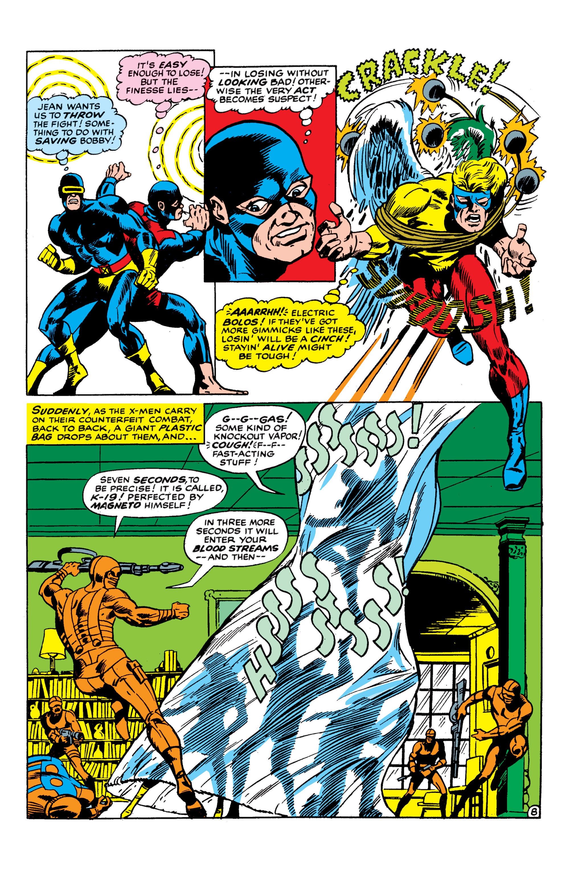 Read online Uncanny X-Men (1963) comic -  Issue #50 - 8