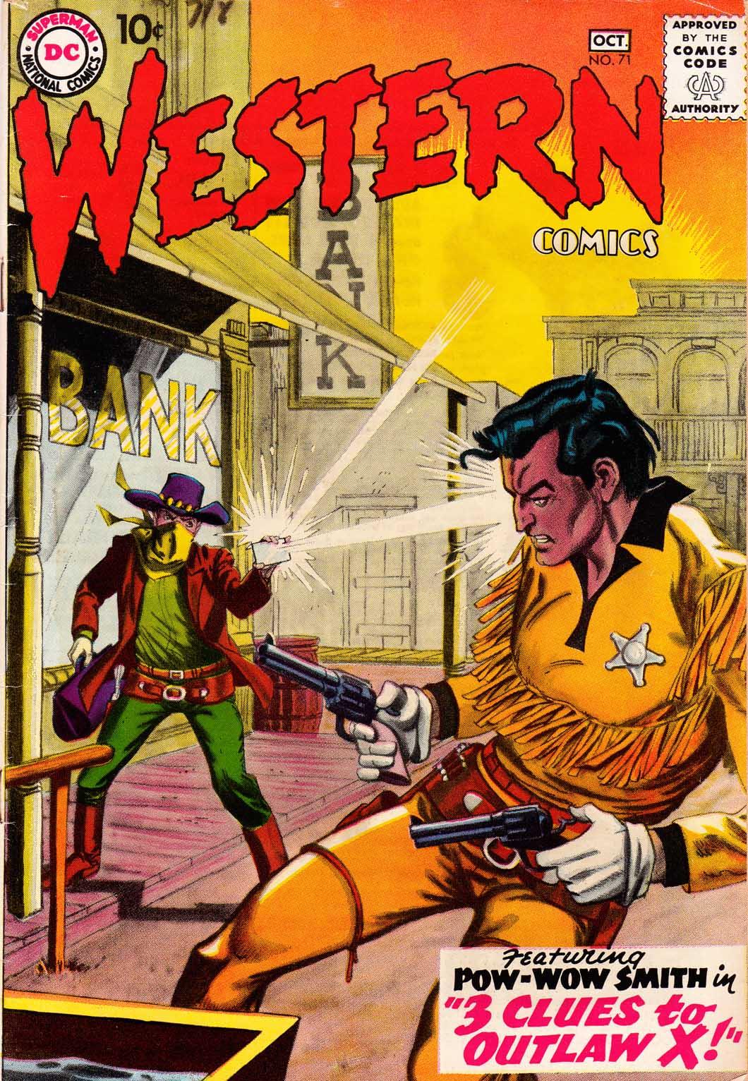 Western Comics 71 Page 1