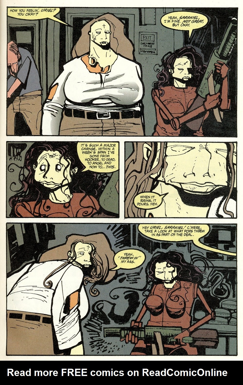 Read online Ted McKeever's Metropol comic -  Issue #11 - 9