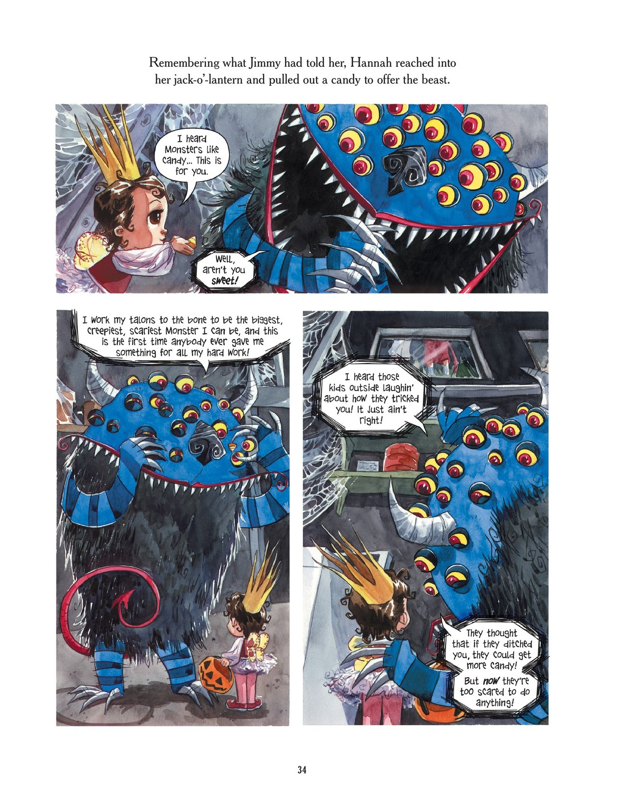 Read online Scary Godmother comic -  Issue # TPB - 34