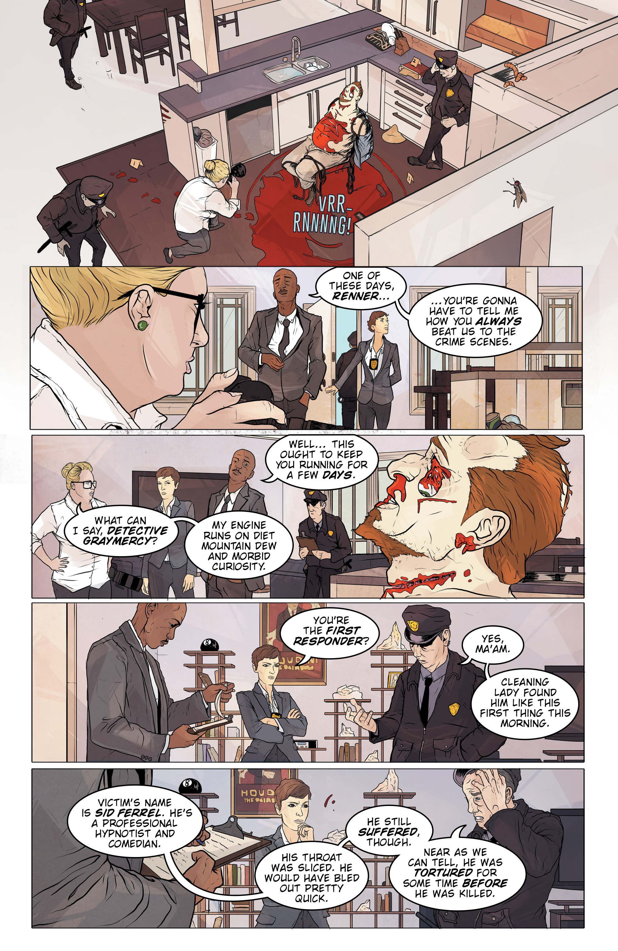 Read online Regression comic -  Issue #2 - 6