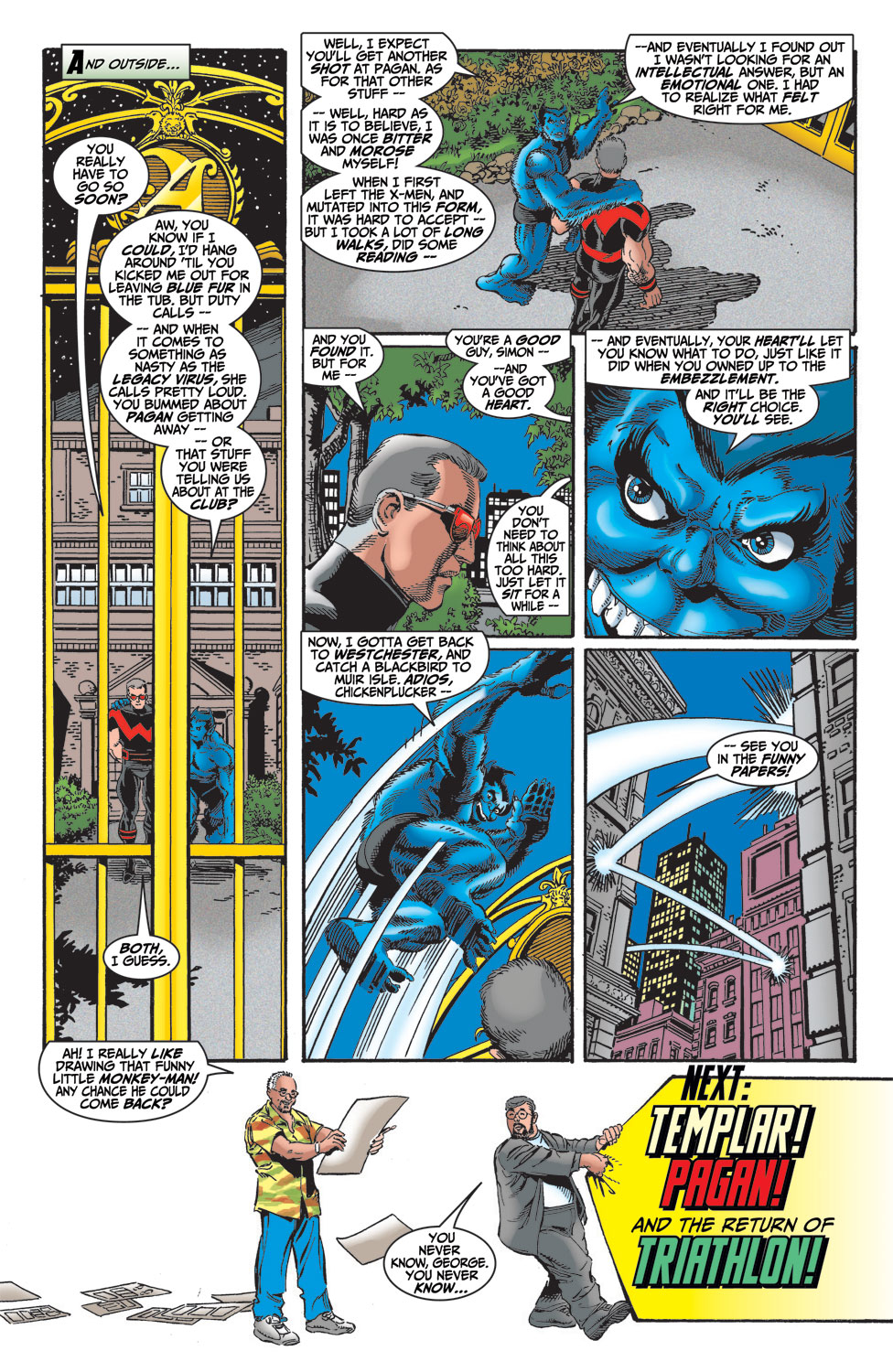 Read online Avengers (1998) comic -  Issue #14 - 22