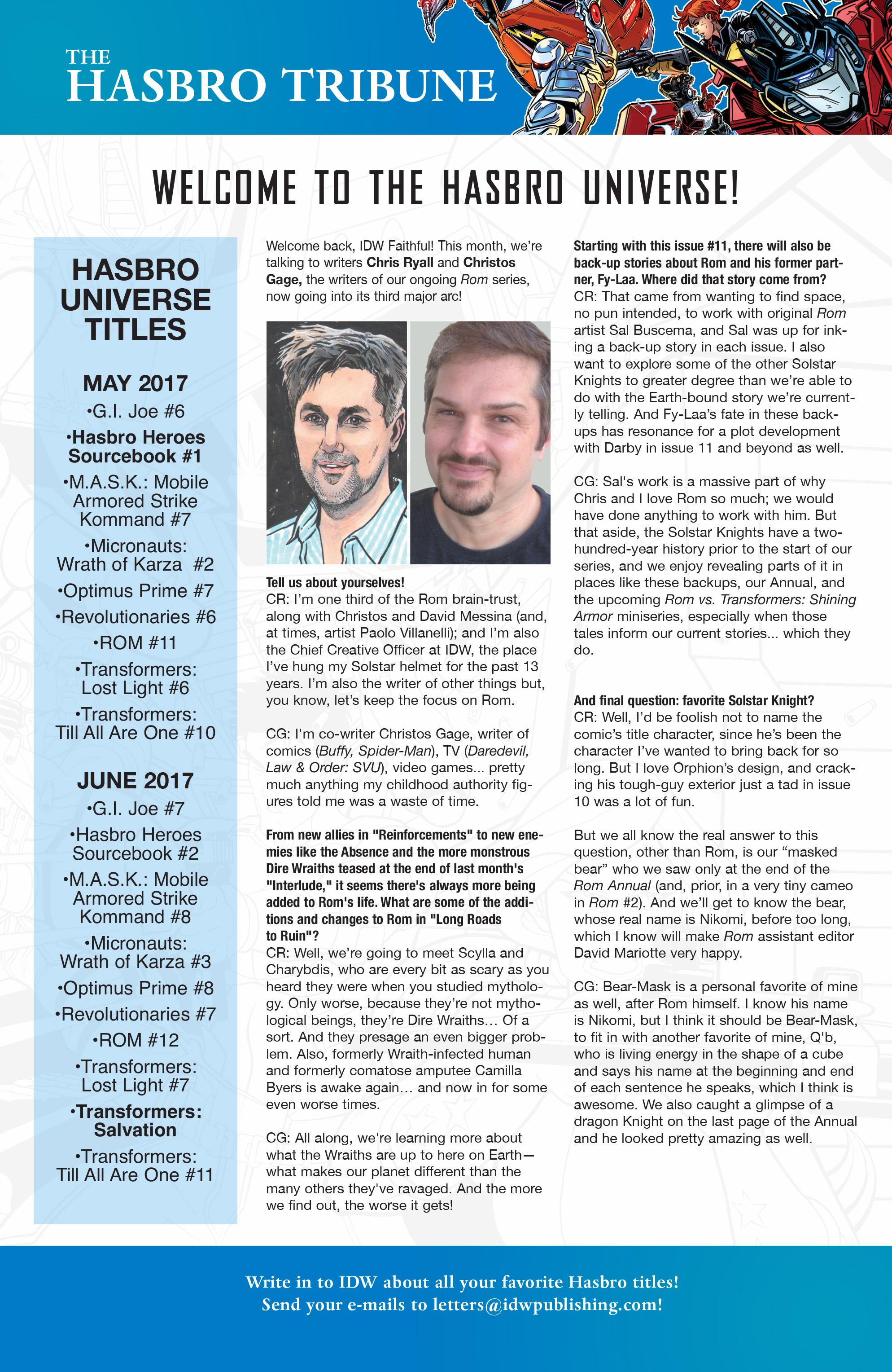 Read online Hasbro Heroes Sourcebook comic -  Issue #1 - 43