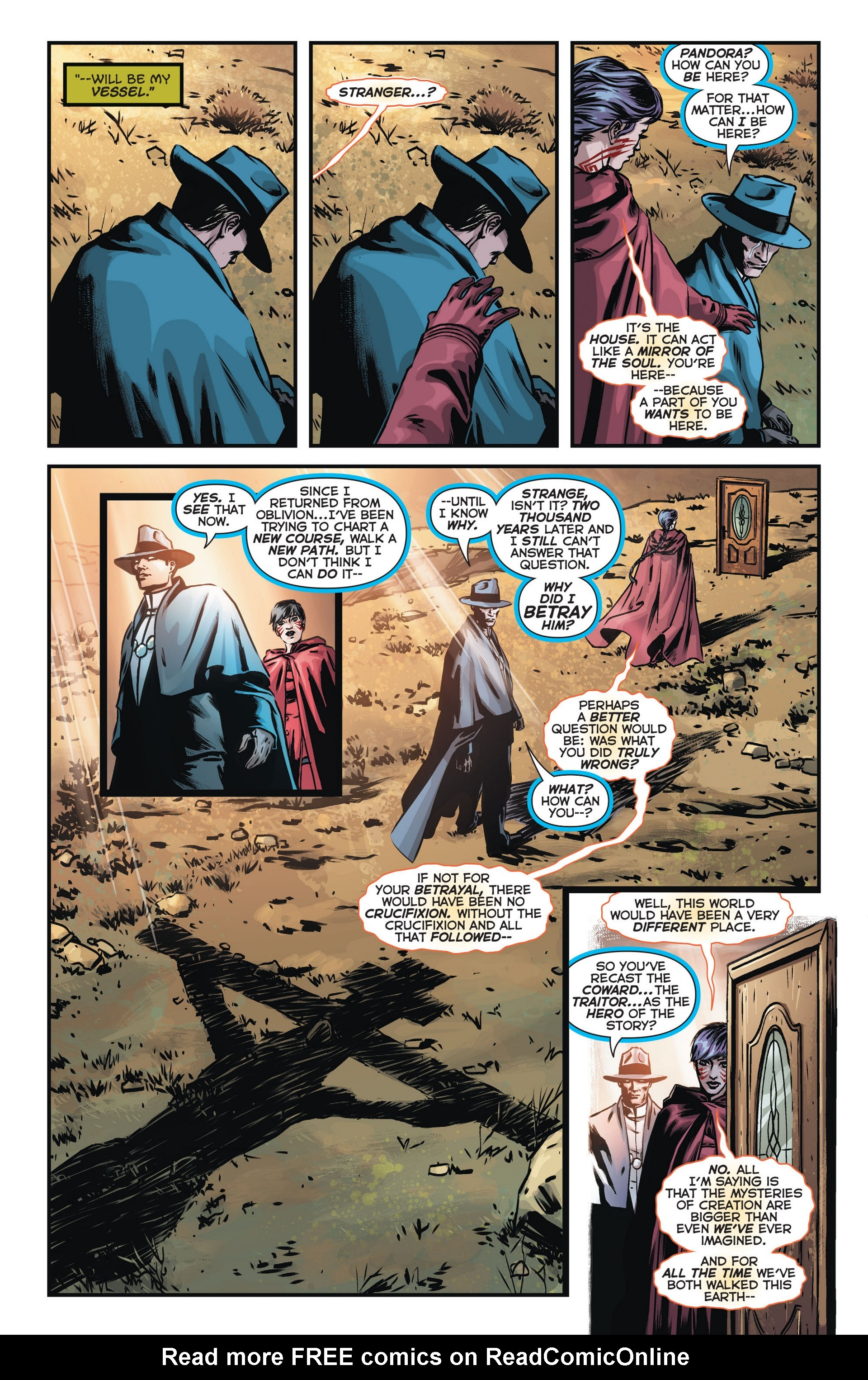 Read online Trinity of Sin: The Phantom Stranger comic -  Issue #14 - 14