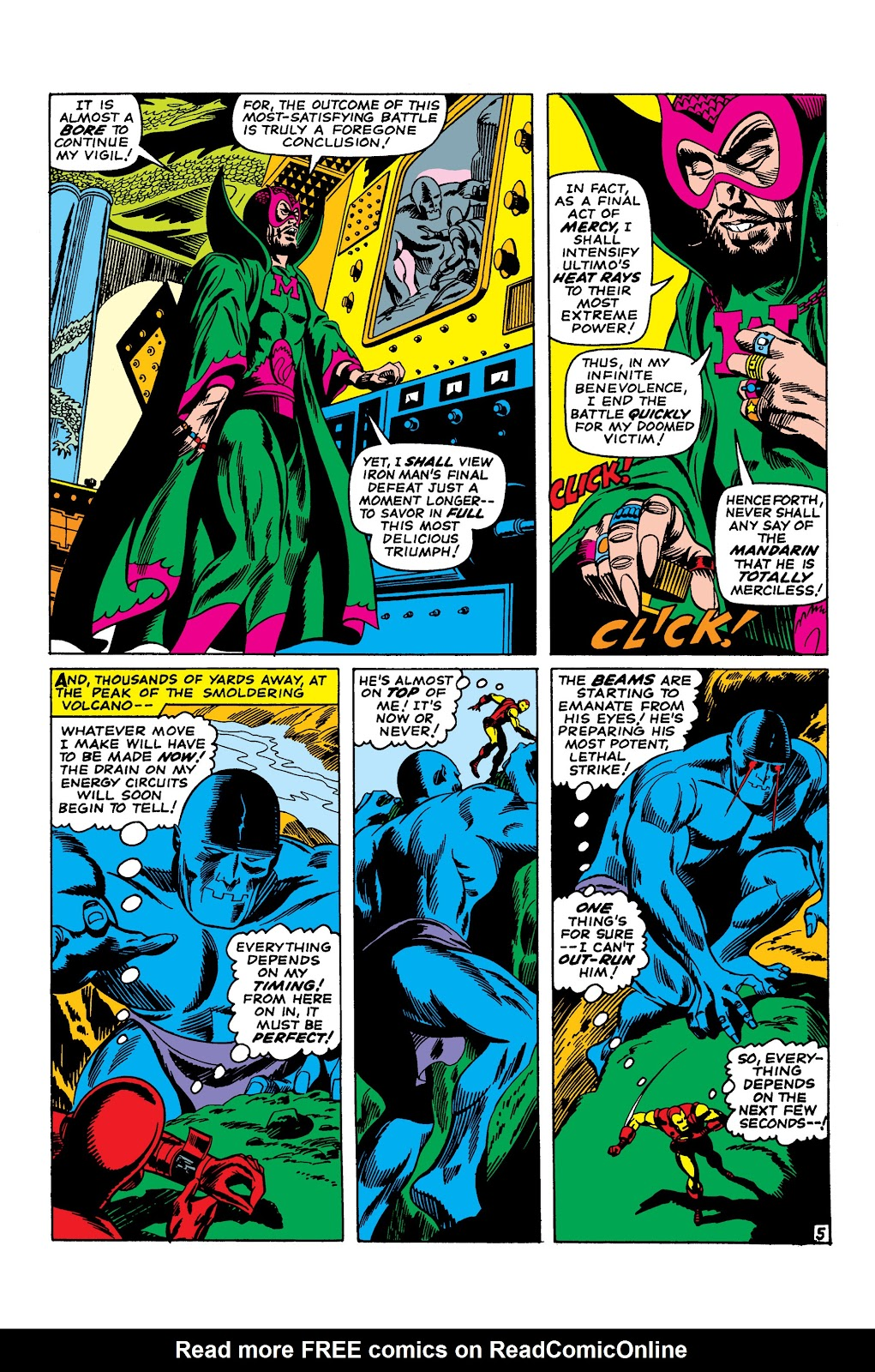 Read online Marvel Masterworks: The Invincible Iron Man comic -  Issue # TPB 3 (Part 3) - 84