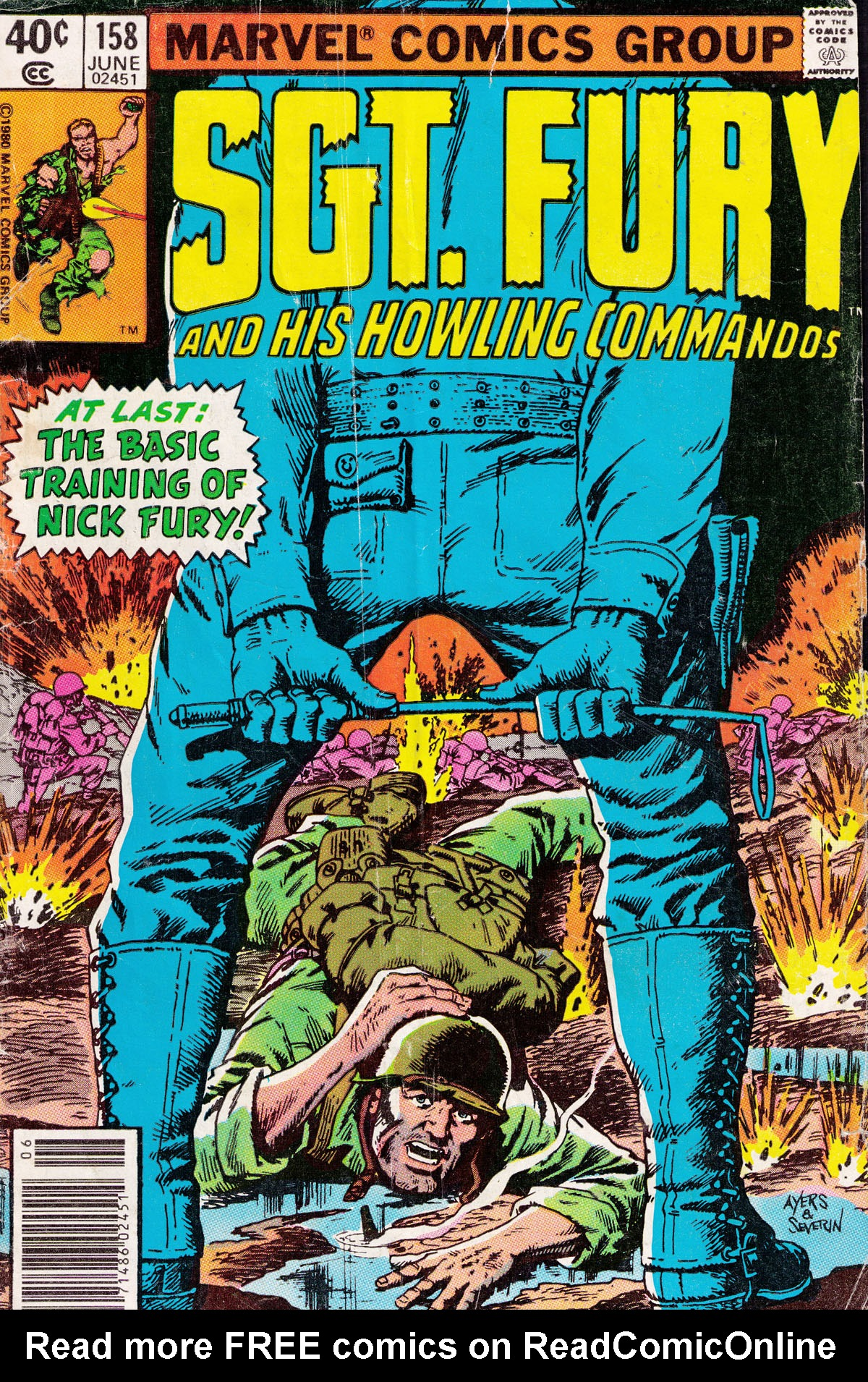 Read online Sgt. Fury comic -  Issue #158 - 1