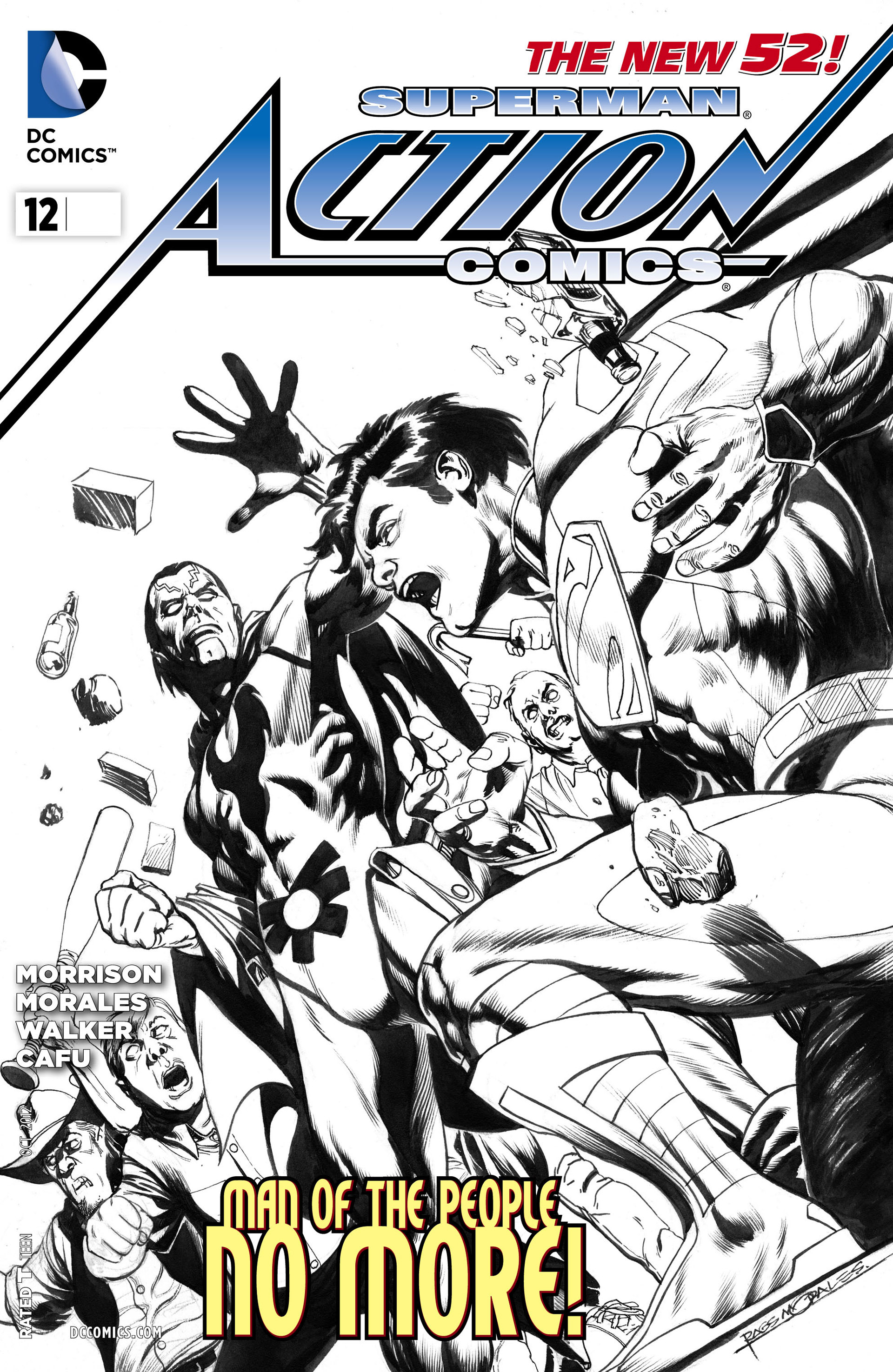 Read online Action Comics (2011) comic -  Issue #12 - 33